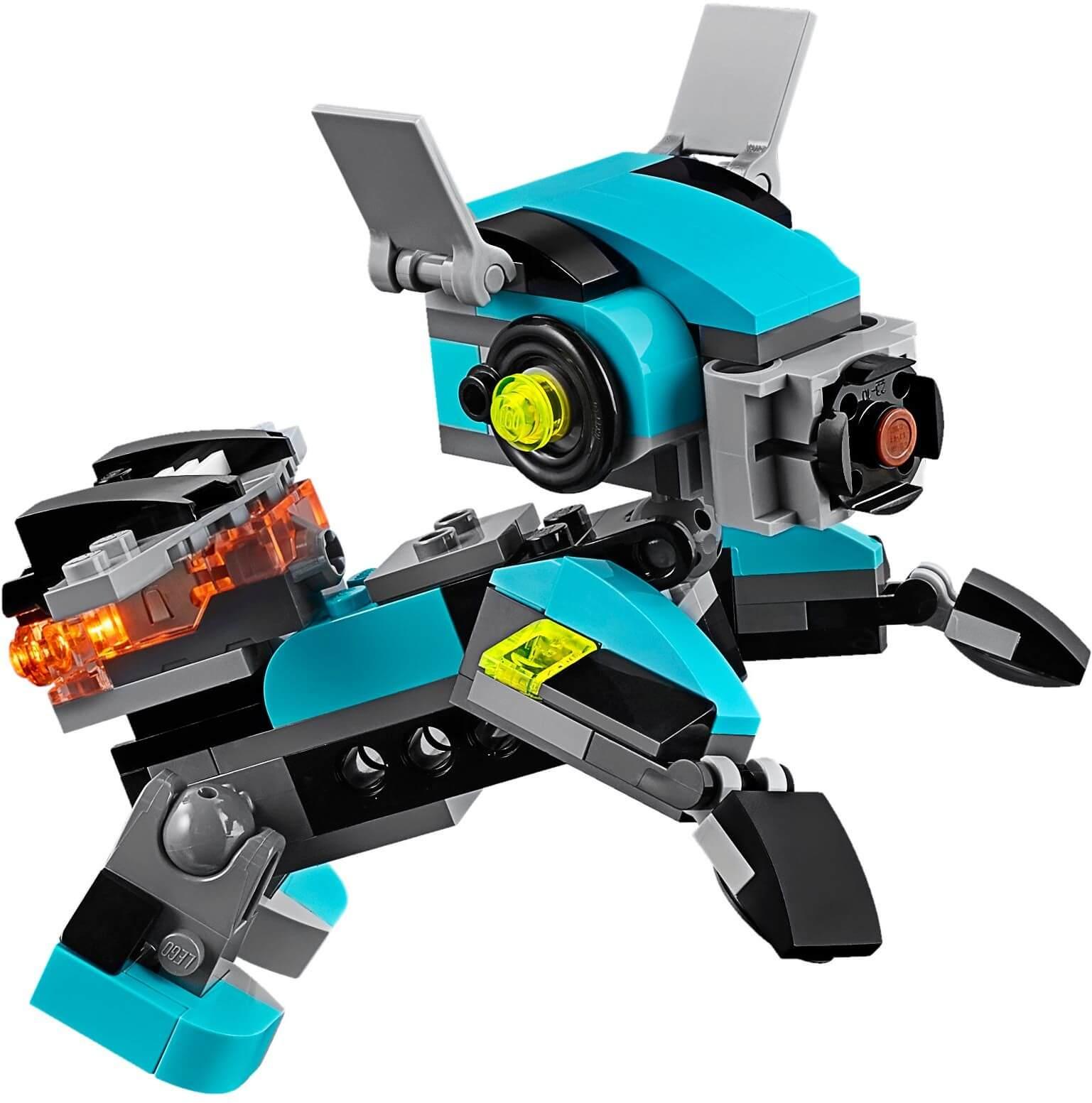 Mua đồ chơi LEGO 31062 - LEGO Creator 31062 - Mô Hình Robot 3-trong-1 (LEGO 31062 Robo Explorer)