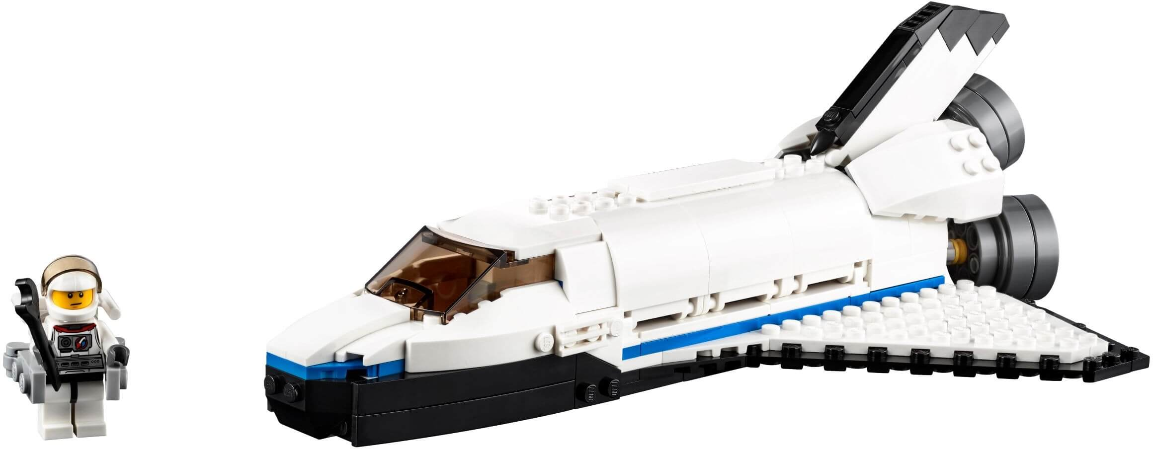 Mua đồ chơi LEGO 31066 - LEGO Creator 31066 - Tàu Con Thoi thám hiểm Vũ Trụ 3-trong-1 (LEGO Creator Space Shuttle Explorer)