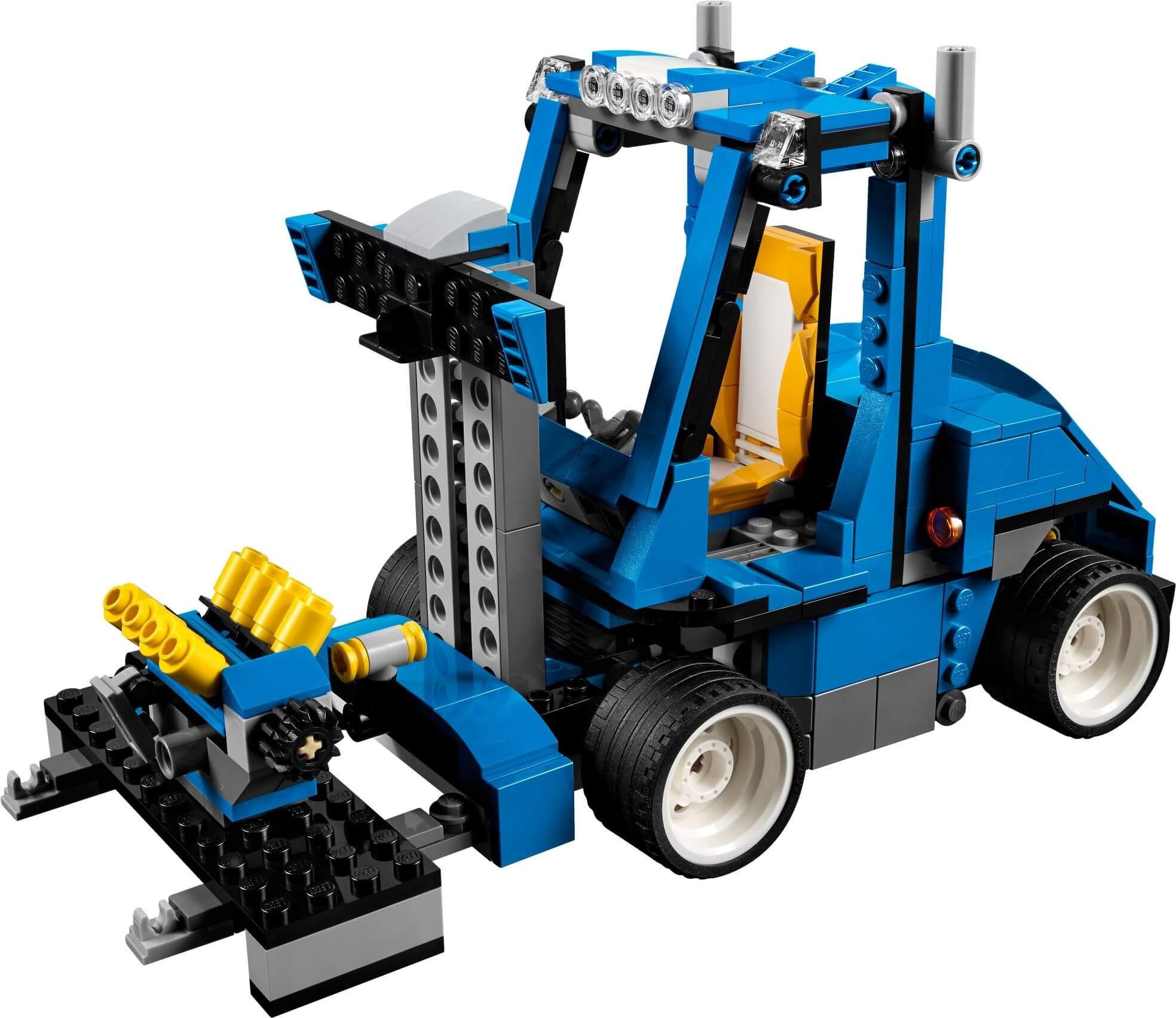 Mua đồ chơi LEGO 31070 - LEGO Creator 31070 - Mô hình Xe Đua - Xe Nâng - Xe Đua F1 3-trong-1 (LEGO Creator Turbo Track Racer)