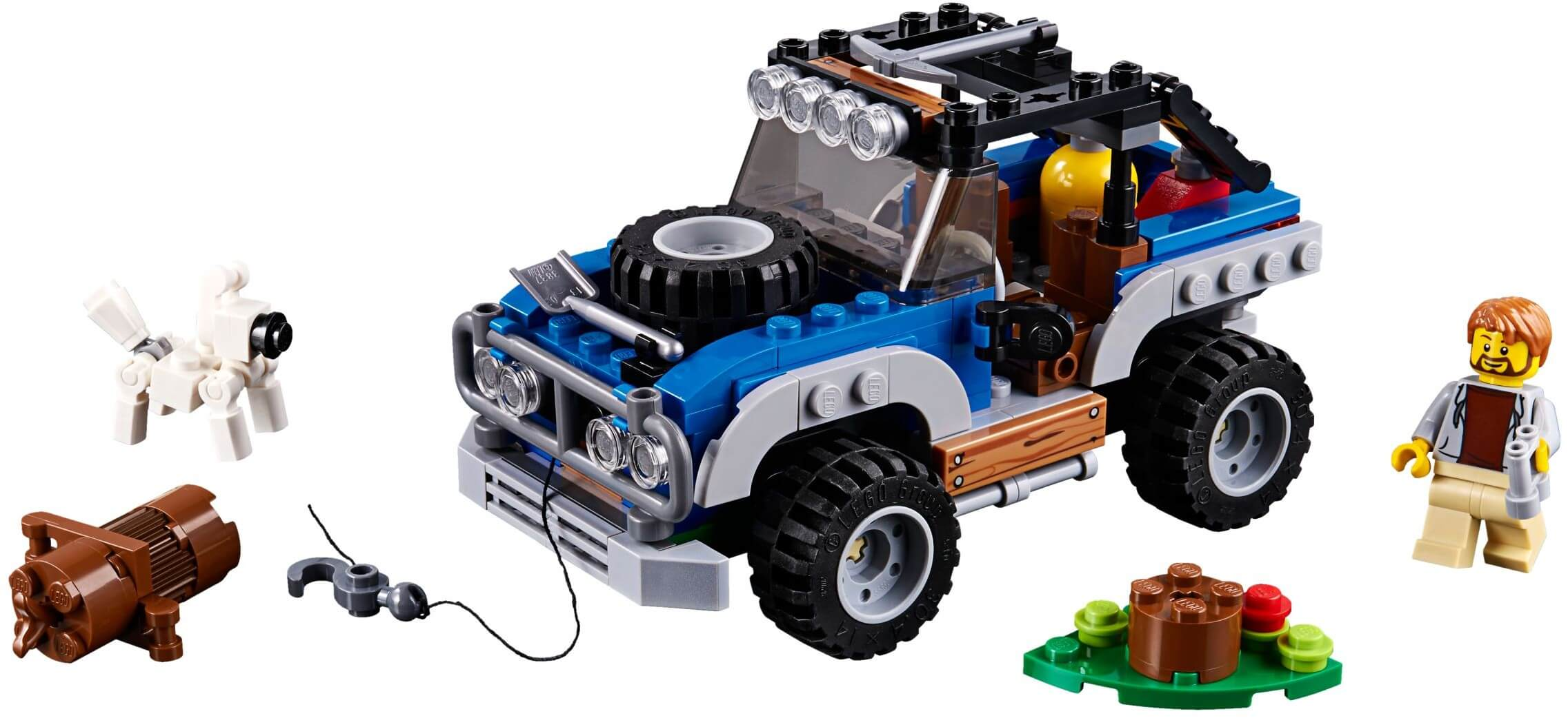 Mua đồ chơi LEGO 31075 - LEGO Creator 31075 - Xếp hình Xe Jeep - Máy Bay - Thuyền 3-trong-1 (LEGO Creator 31075 Outback Adventures)