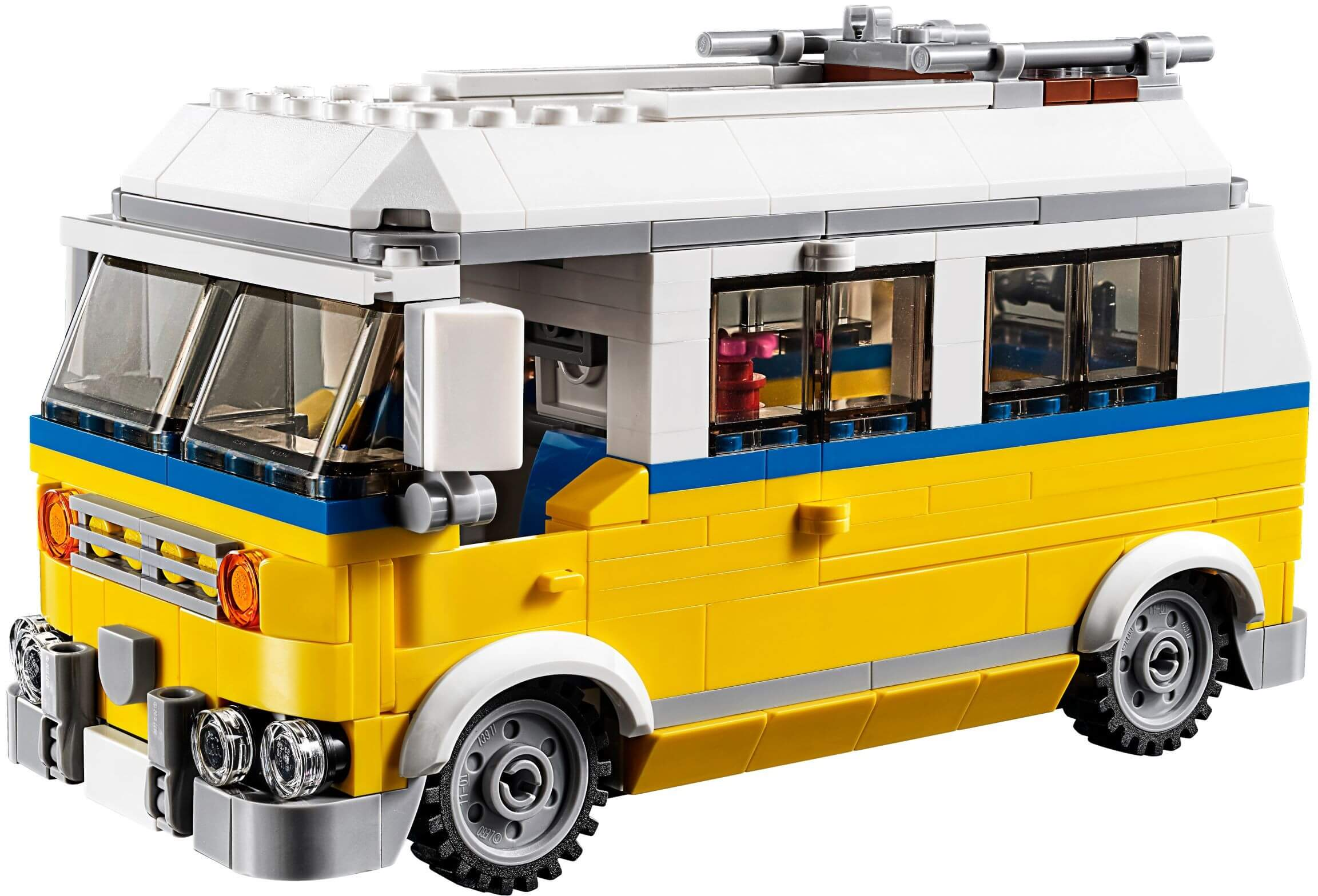 Mua đồ chơi LEGO 31079 - LEGO Creator 31079 - Xếp hình Xe Tải Cắm Trại - Xe Hơi - Nhà cứu hộ 3-trong-1 (LEGO Creator 31079 Sunshine Surfer Van)