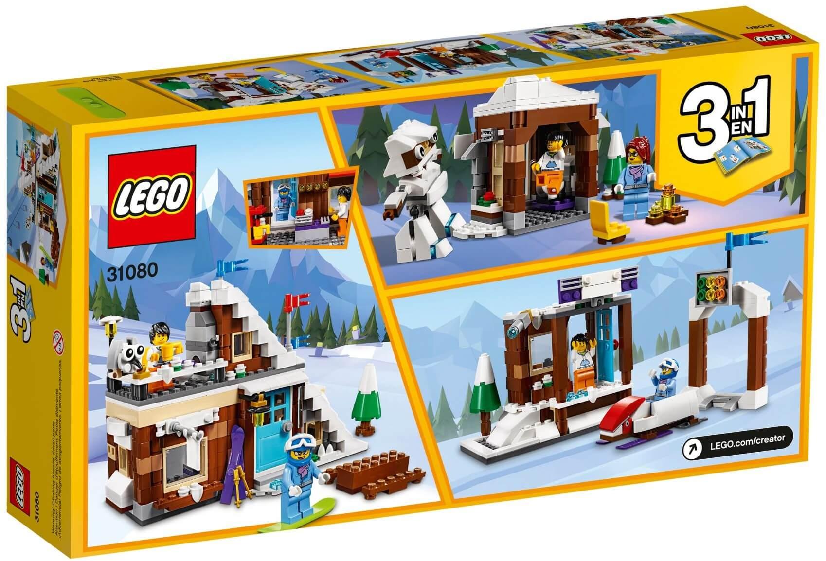 Mua đồ chơi LEGO 31080 - LEGO Creator 31080 - Ngôi Nhà Tuyết Mô hình 3-trong-1 (LEGO Creator 31080 Modular Winter Vacation)