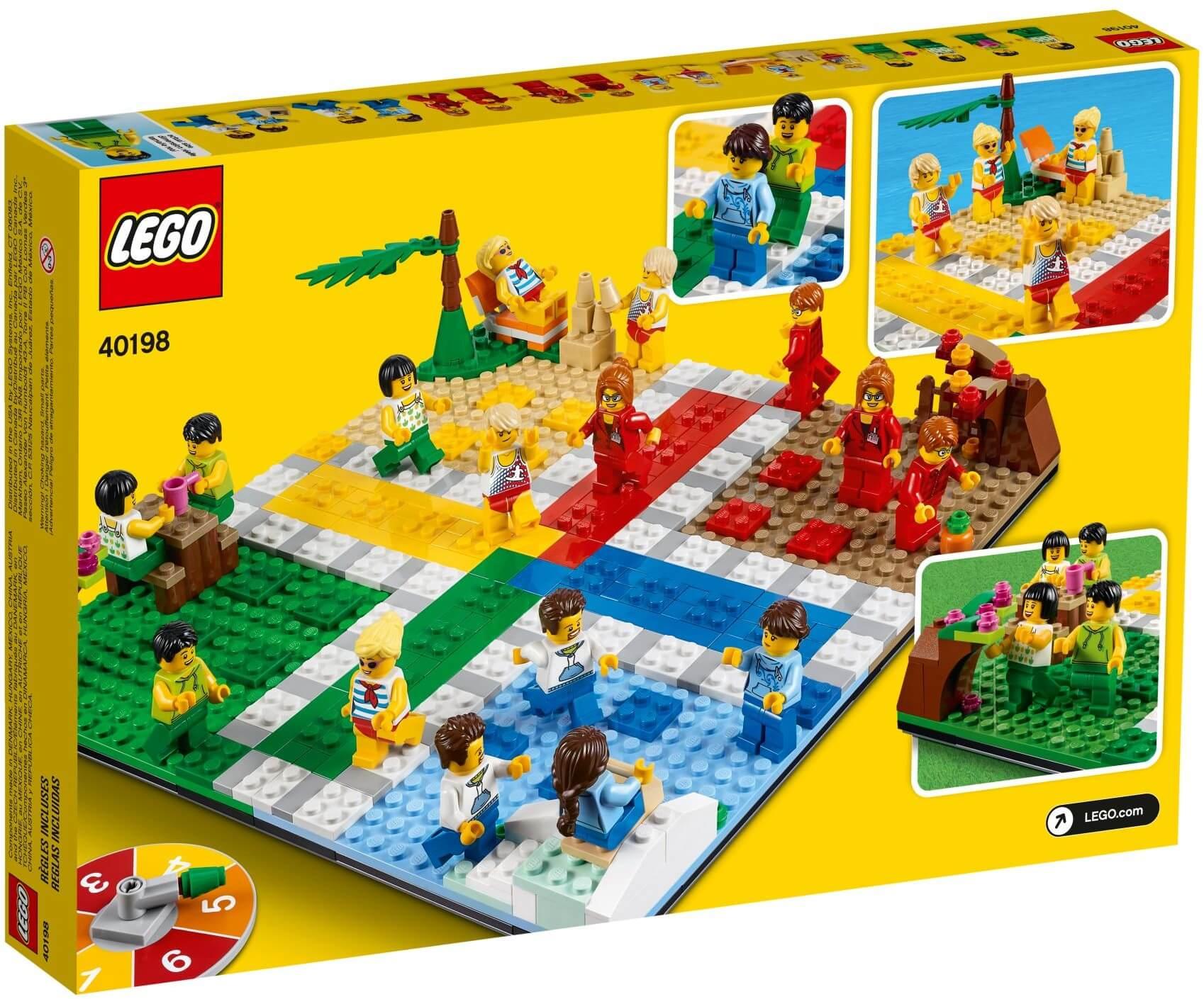 Đồ chơi lắp ráp LEGO Ideas 40198 - Cờ Cá Ngựa LEGO Ludo Game (LEGO 40198  LEGO Ludo Game) giá rẻ ở Việt Nam
