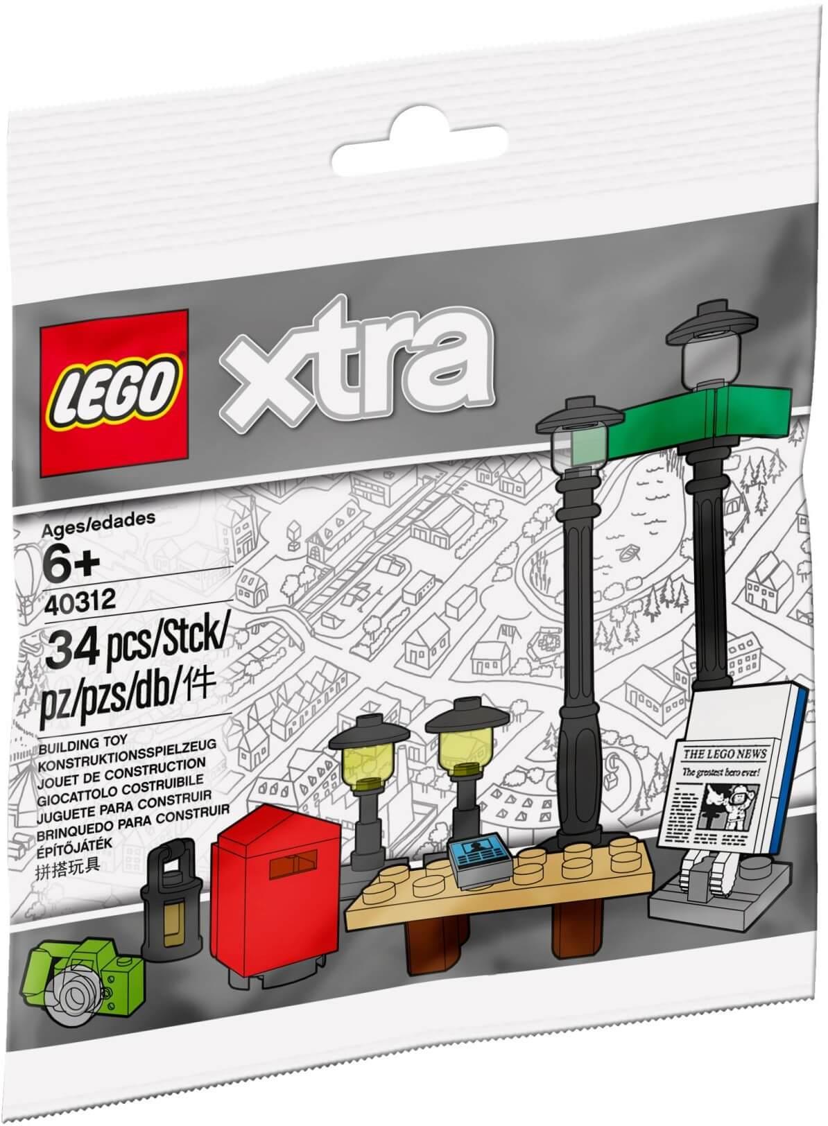 Mua đồ chơi LEGO 40312 - LEGO City 40312 - Bộ Xếp hình Đèn Đường (LEGO 40312 Streetlamps)