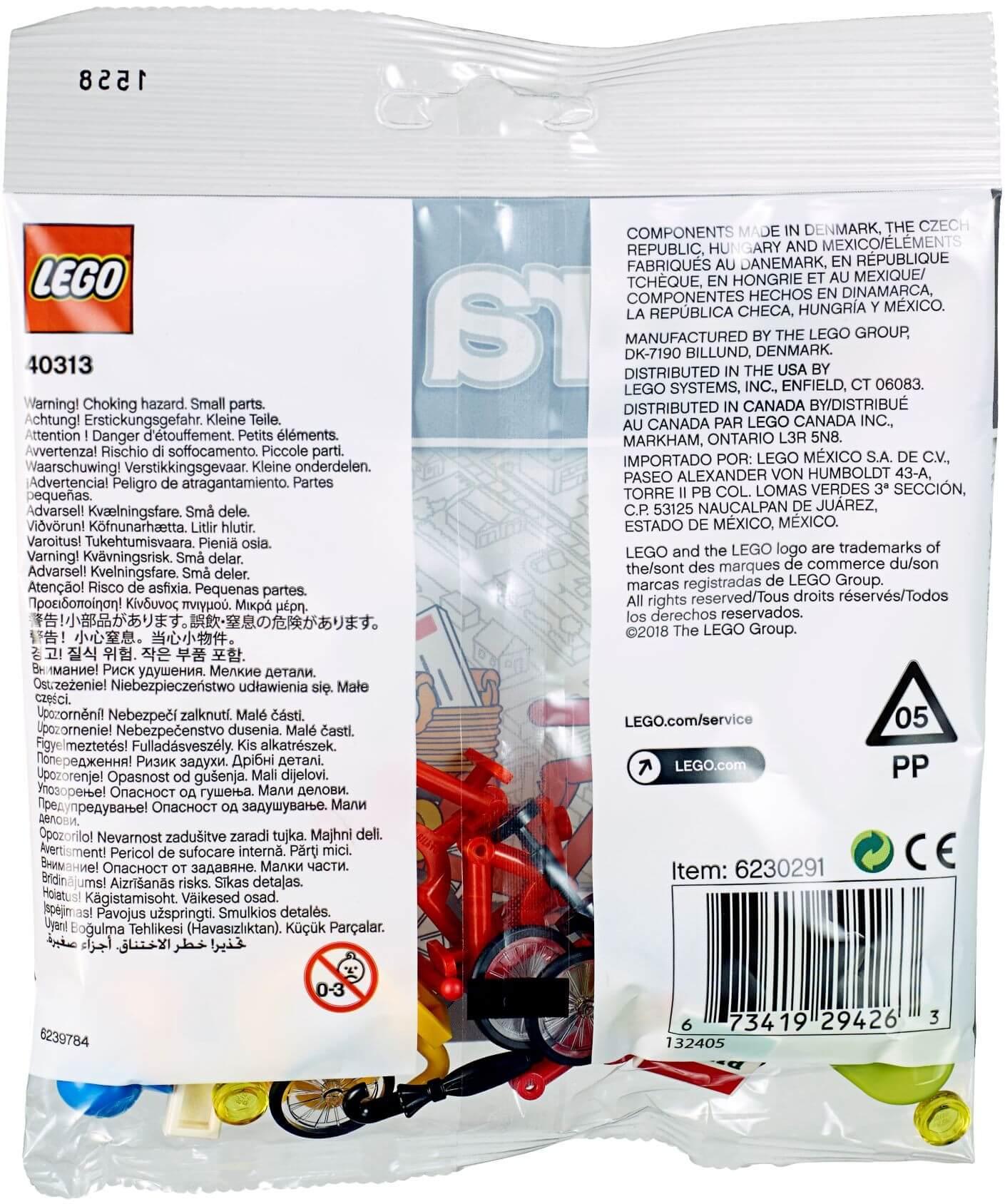 Mua đồ chơi LEGO 40313 - LEGO City 40313 - Bộ Xếp hình Xe Đạp (LEGO 40313 Bicycles)