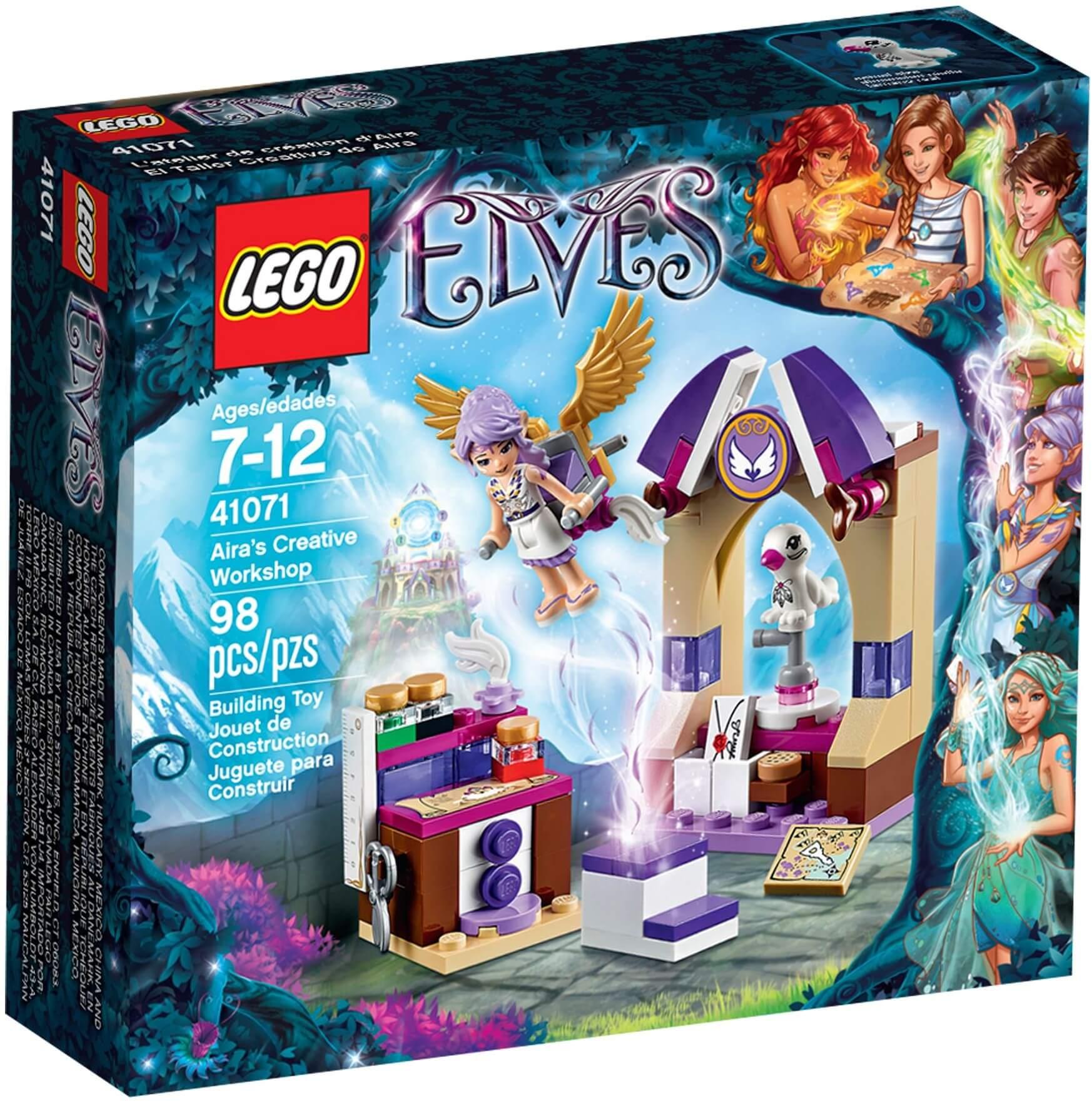 Mua đồ chơi LEGO 41071 - LEGO Elves 41071 - Xưởng Chế Tạo Ma Thuật Của Aira (LEGO Elves Aira's Creative Workshop 41071)