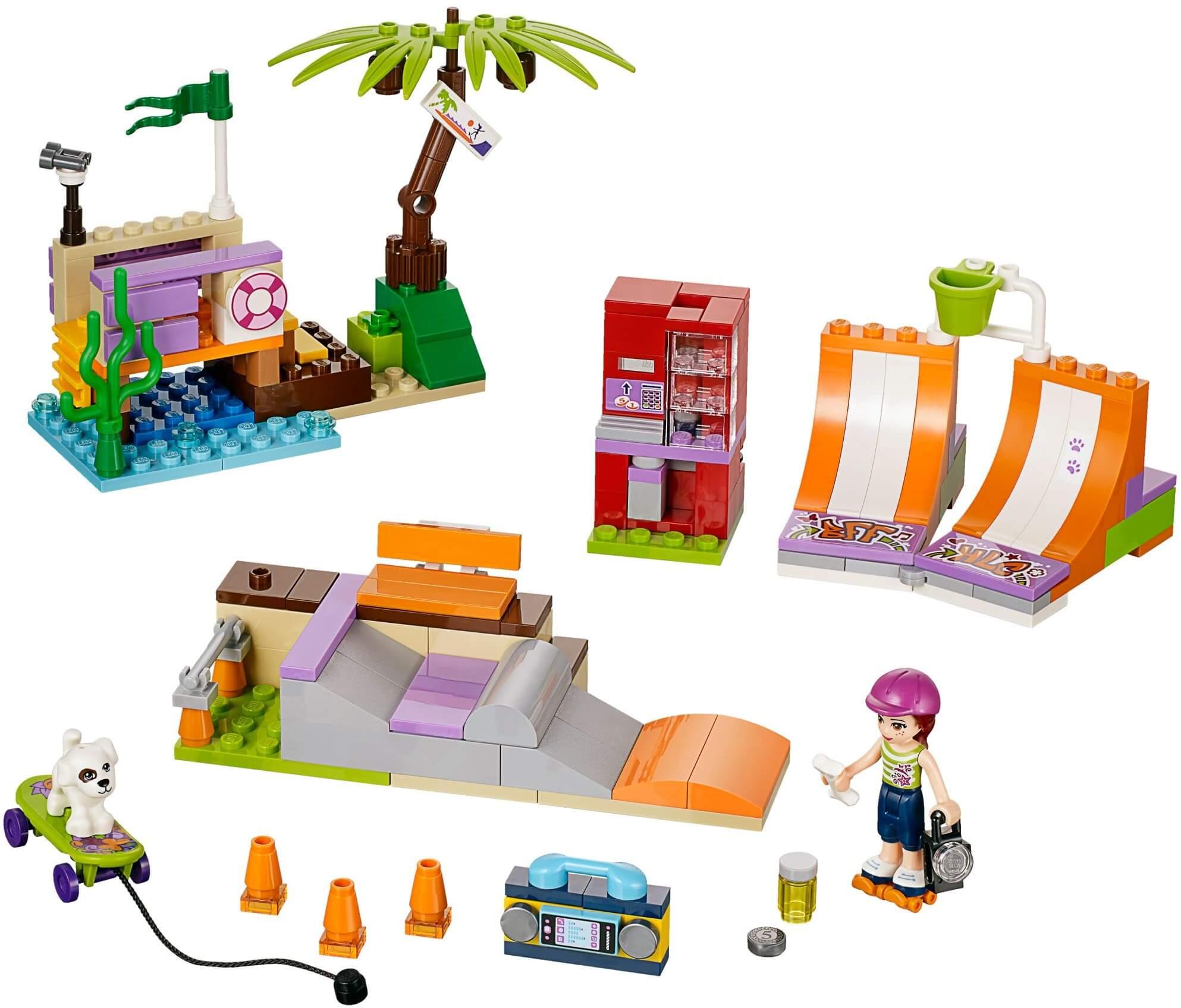 Mua đồ chơi LEGO 41099 - LEGO Friends 41099 - Công Viên Ván Trượt Heartlake (LEGO Friends Heartlake Skate Park 41099)
