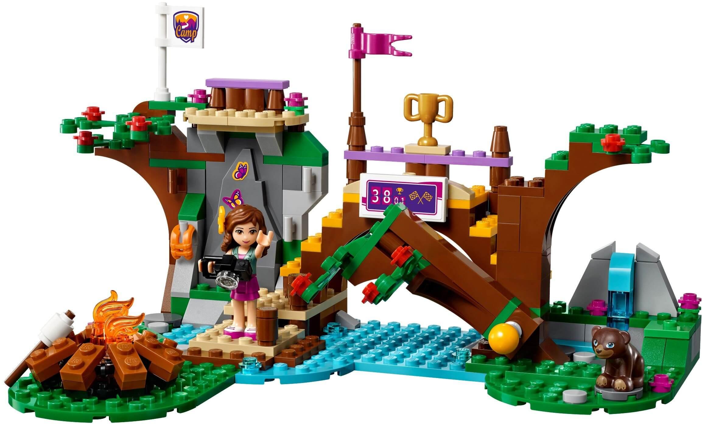 Mua đồ chơi LEGO 41121 - LEGO Friends 41121 - Hội Trại chèo Thuyền (LEGO Friends Adventure Camp Rafting 41121)