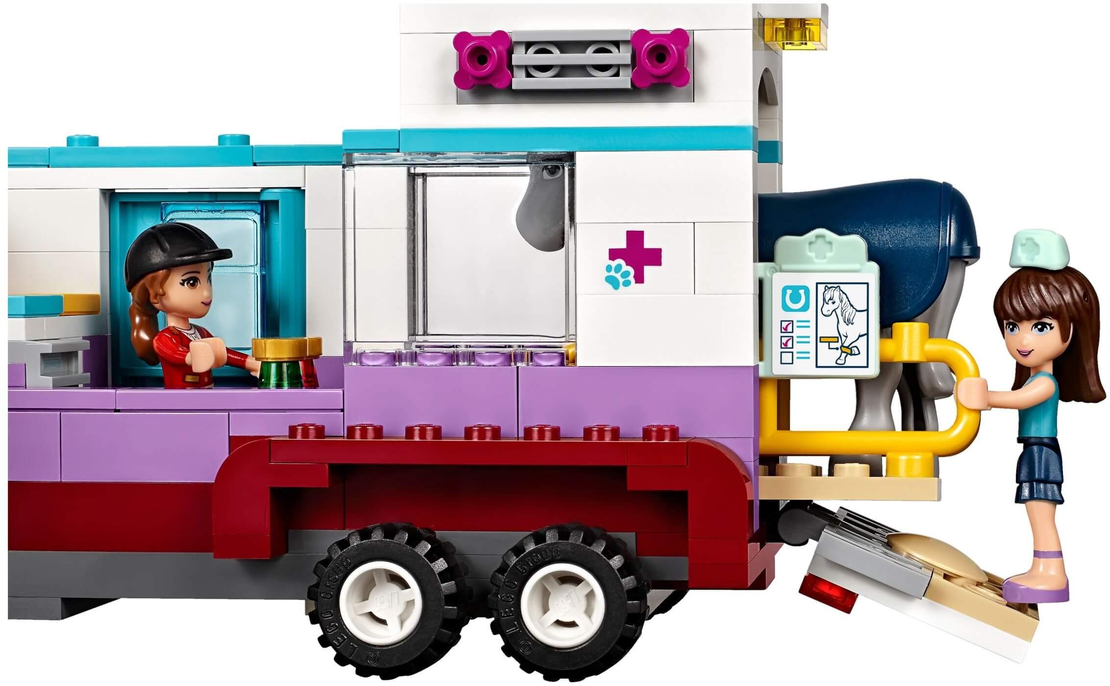 Mua đồ chơi LEGO 41125 - LEGO Friends 41125 - Xe Chăm Sóc Thú Cưng của Sophie (LEGO Friends Horse Vet Trailer 41125)
