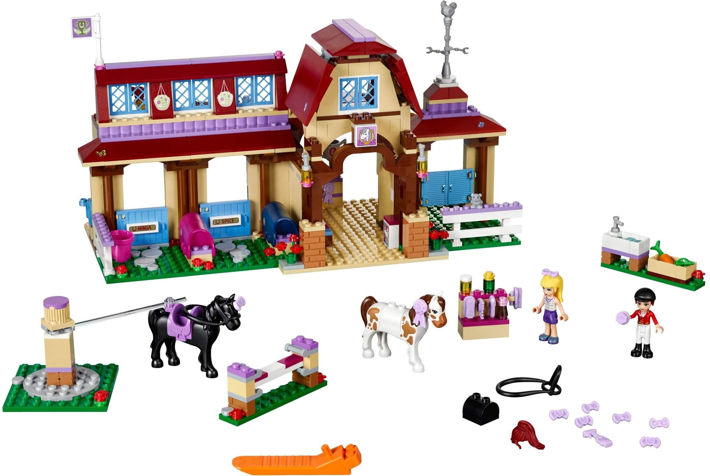 Mua đồ chơi LEGO 41126 - LEGO Friends 41126 - Trường Đua Ngựa Heartlake (LEGO Friends Heartlake Riding Club 41126)