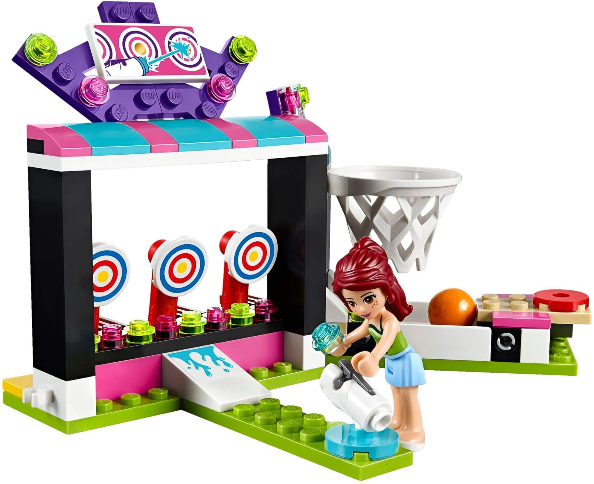 Mua đồ chơi LEGO 41127 - LEGO Friends 41127 - Khu Trò Chơi Giải Trí (LEGO Friends Amusement Park Arcade 41127)