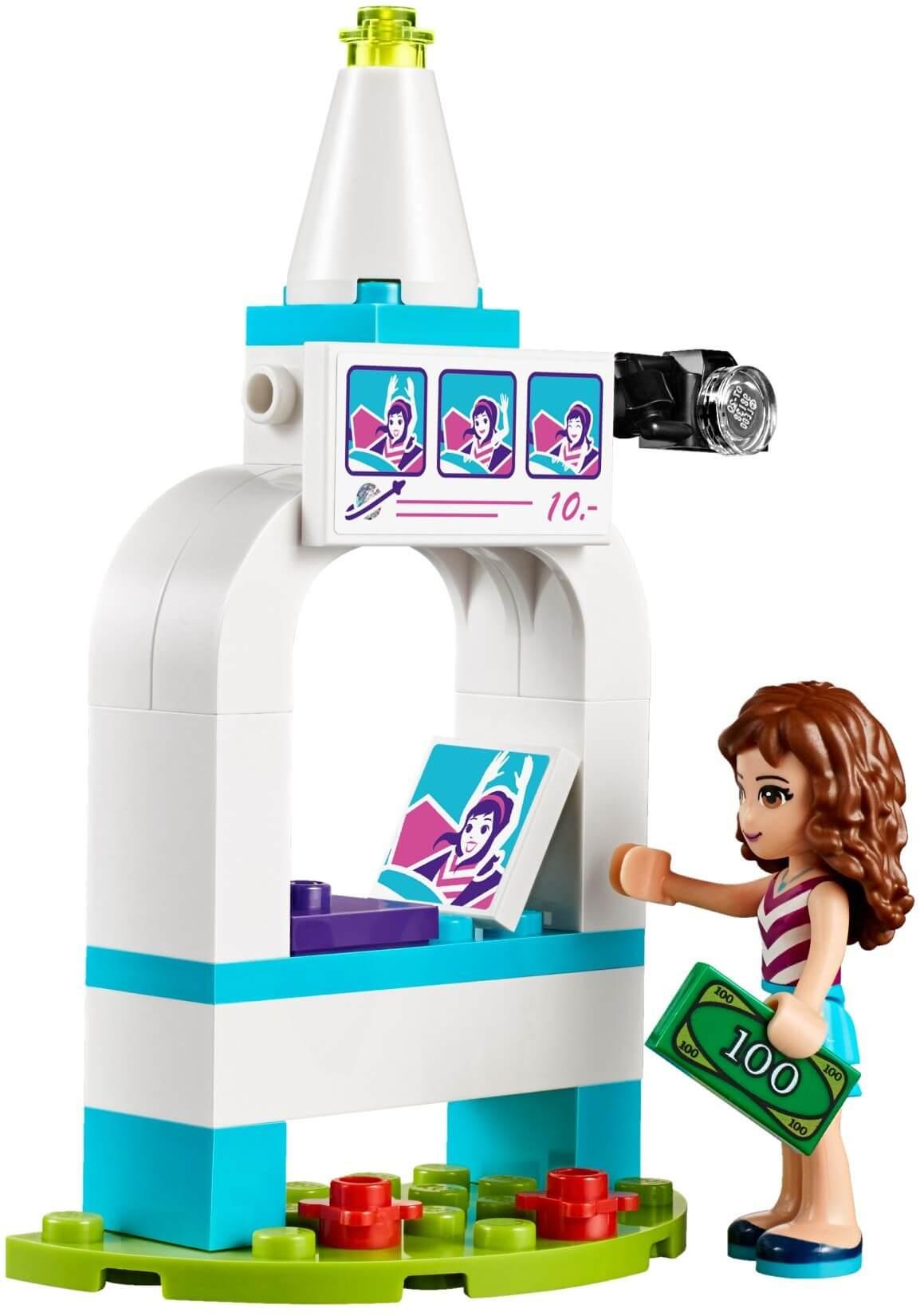 Mua đồ chơi LEGO 41128 - LEGO Friends 41128 - Vòng Đu Quay Giải Trí (LEGO Friends Amusement Park Space Ride 41128)