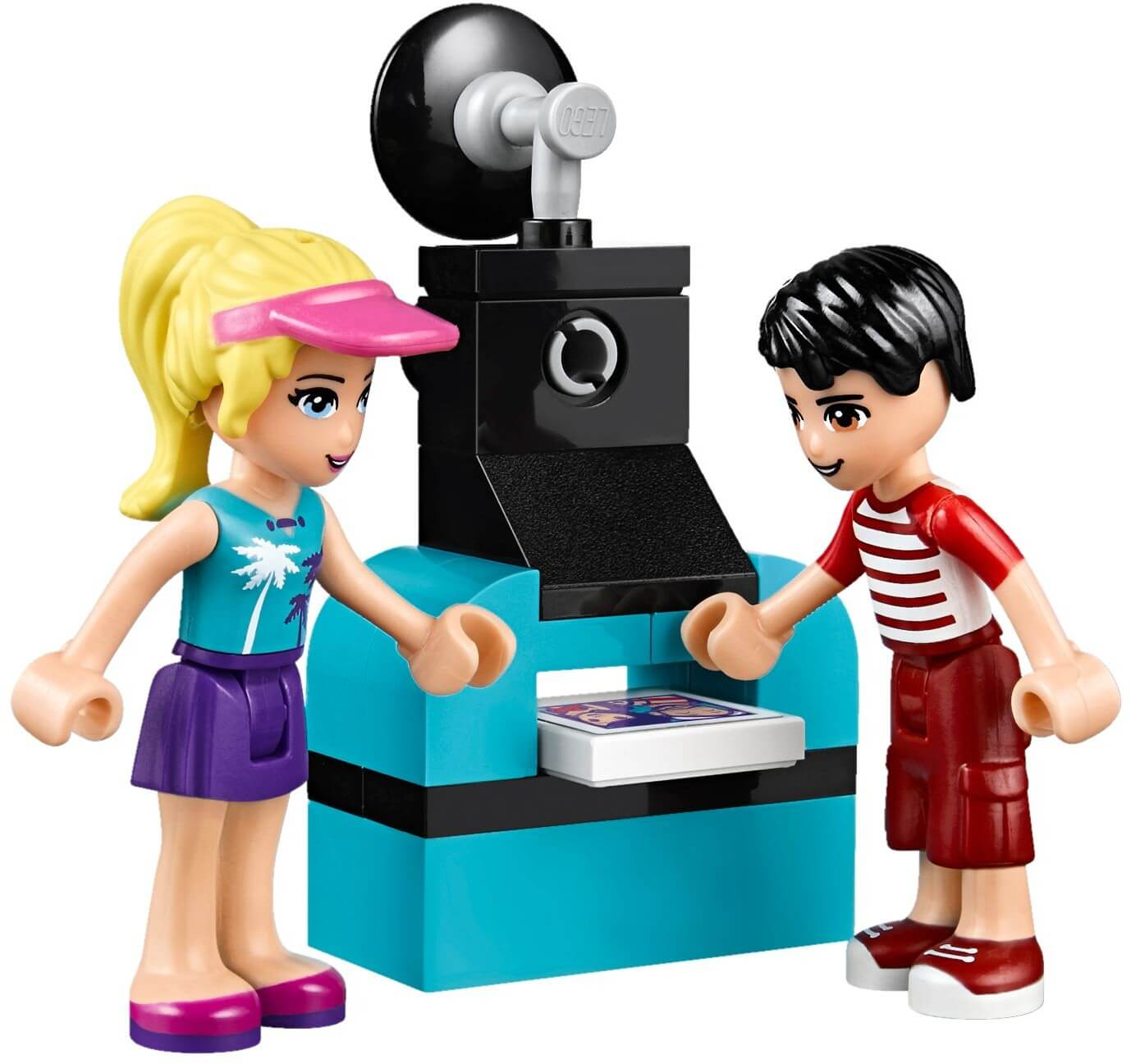 Mua đồ chơi LEGO 41129 - LEGO Friends 41129 - Xe Tải Hot Dog Stephenie (LEGO Friends Amusement Park Hot Dog Van 41129)