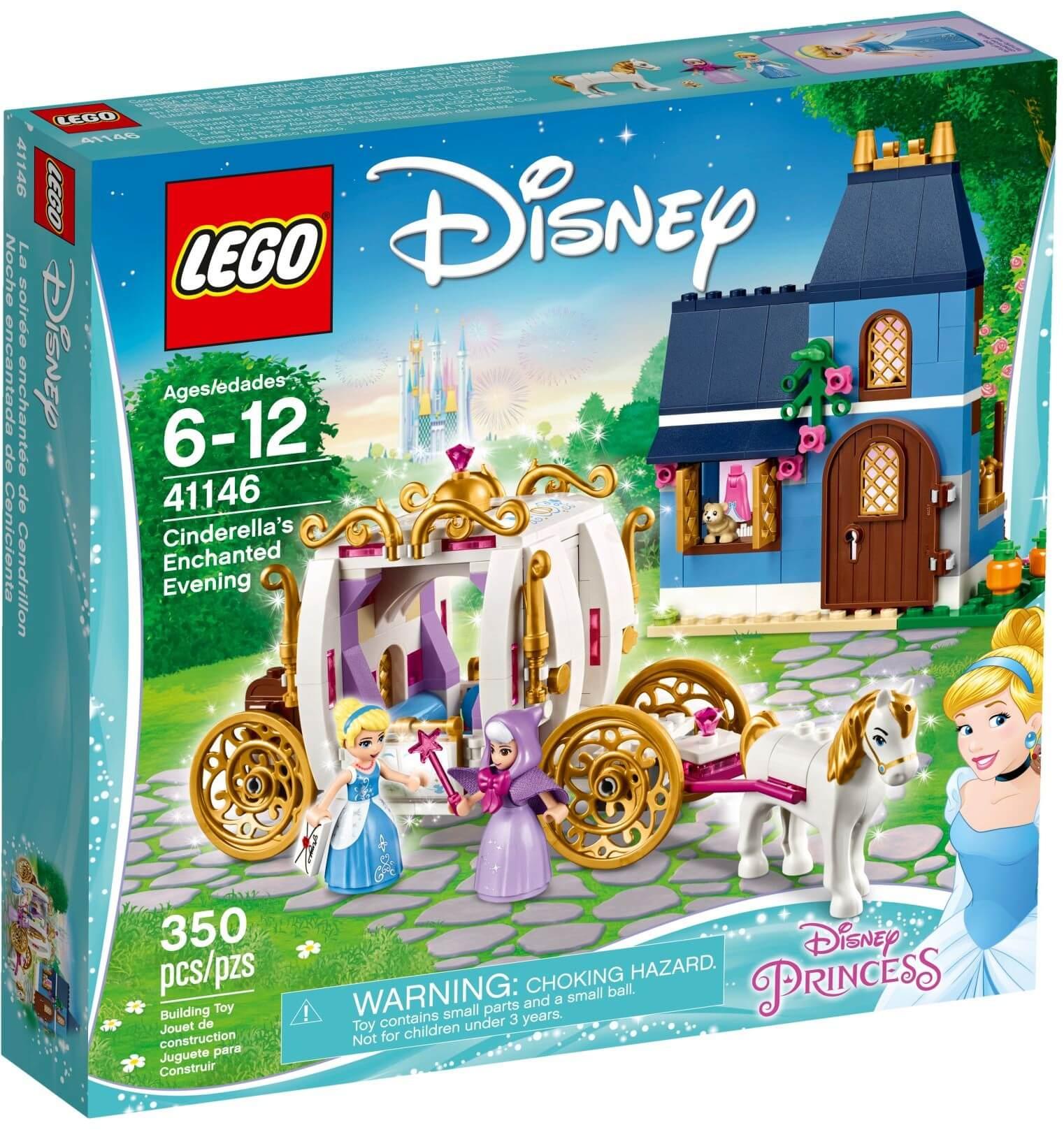 Mua đồ chơi LEGO 41146 - LEGO Công Chúa Disney 41146 - Công Chúa Lọ Lem Cinderella và Cô Tiên (LEGO Disney Princess Cinderella's Enchanted Evening)