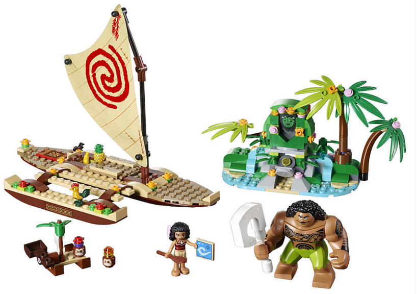 Mua đồ chơi LEGO 41150 - LEGO Disney 41150 - Thuyền Buồm của Moana & Maui (LEGO Disney Moana's Ocean Voyage 41150)