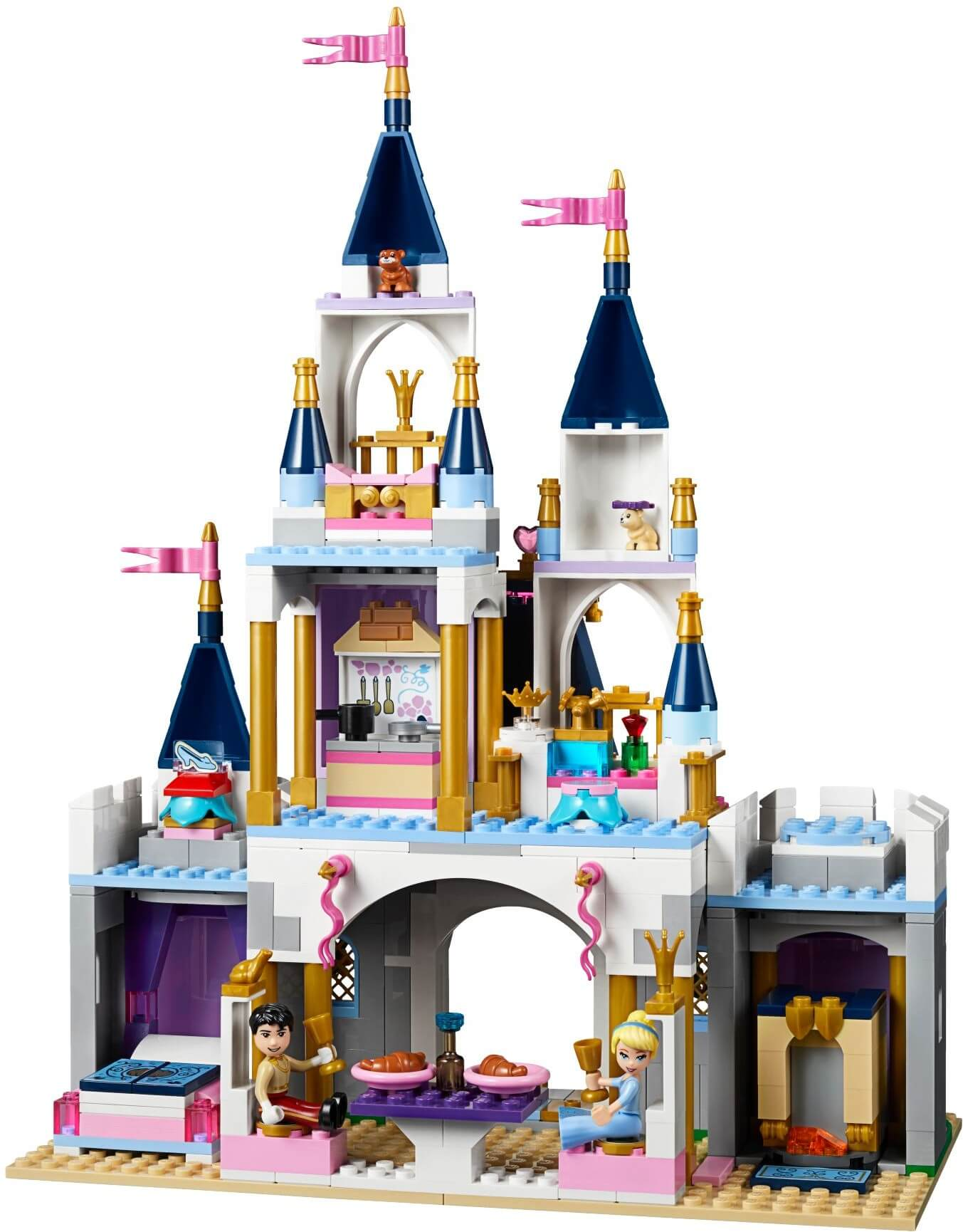 Mua đồ chơi LEGO 41154 - LEGO Công Chúa Disney 41154 - Lâu Đài Công Chúa Lọ Lem Cinderella (LEGO Công Chúa Disney 41154 Cinderella's Dream Castle)
