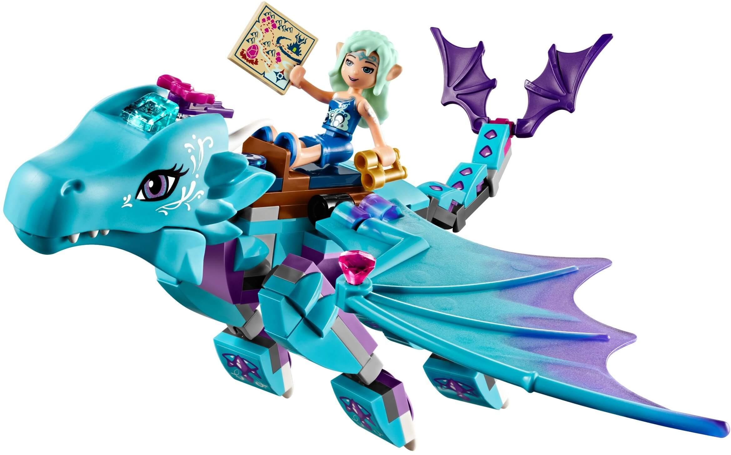 Mua đồ chơi LEGO 41172 - LEGO Elves 41172 - Cuộc Phiêu Lưu Của Rồng Nước (LEGO Elves The Water Dragon Adventure 41172)