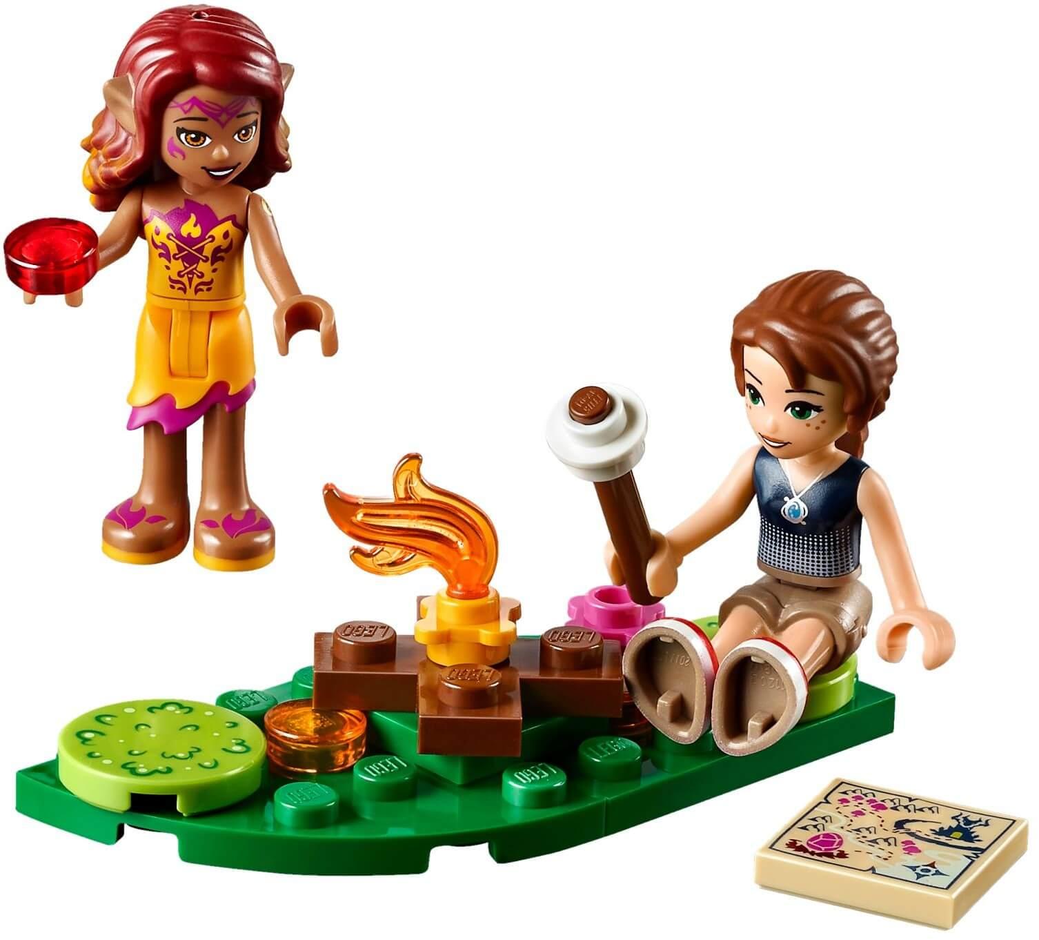 Mua đồ chơi LEGO 41175 - LEGO Elves 41175 - Hang Núi Bí Mật Của Rồng Lửa (LEGO Elves Fire Dragon's Lava Cave 41175)