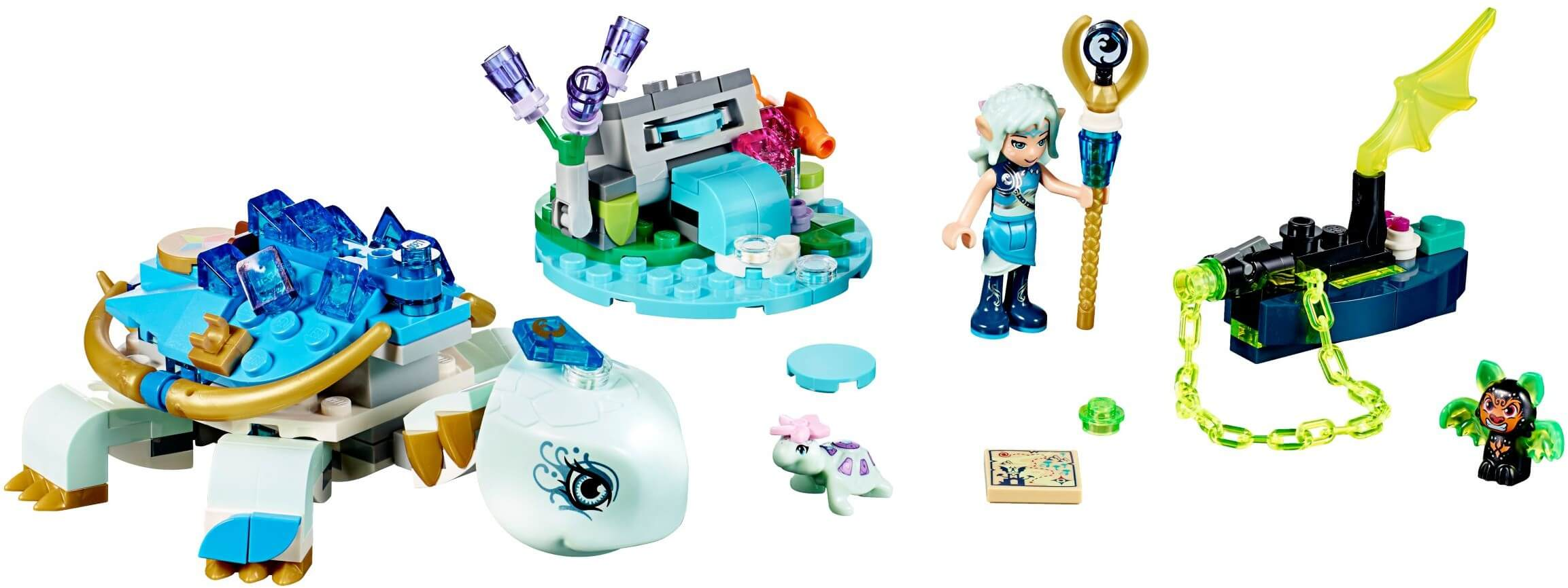 Mua đồ chơi LEGO 41191 - LEGO Elves 41191 - Rùa Nước Khổng Lồ của Naida (LEGO Elves 41191 Naida & the Water Turtle Ambush)