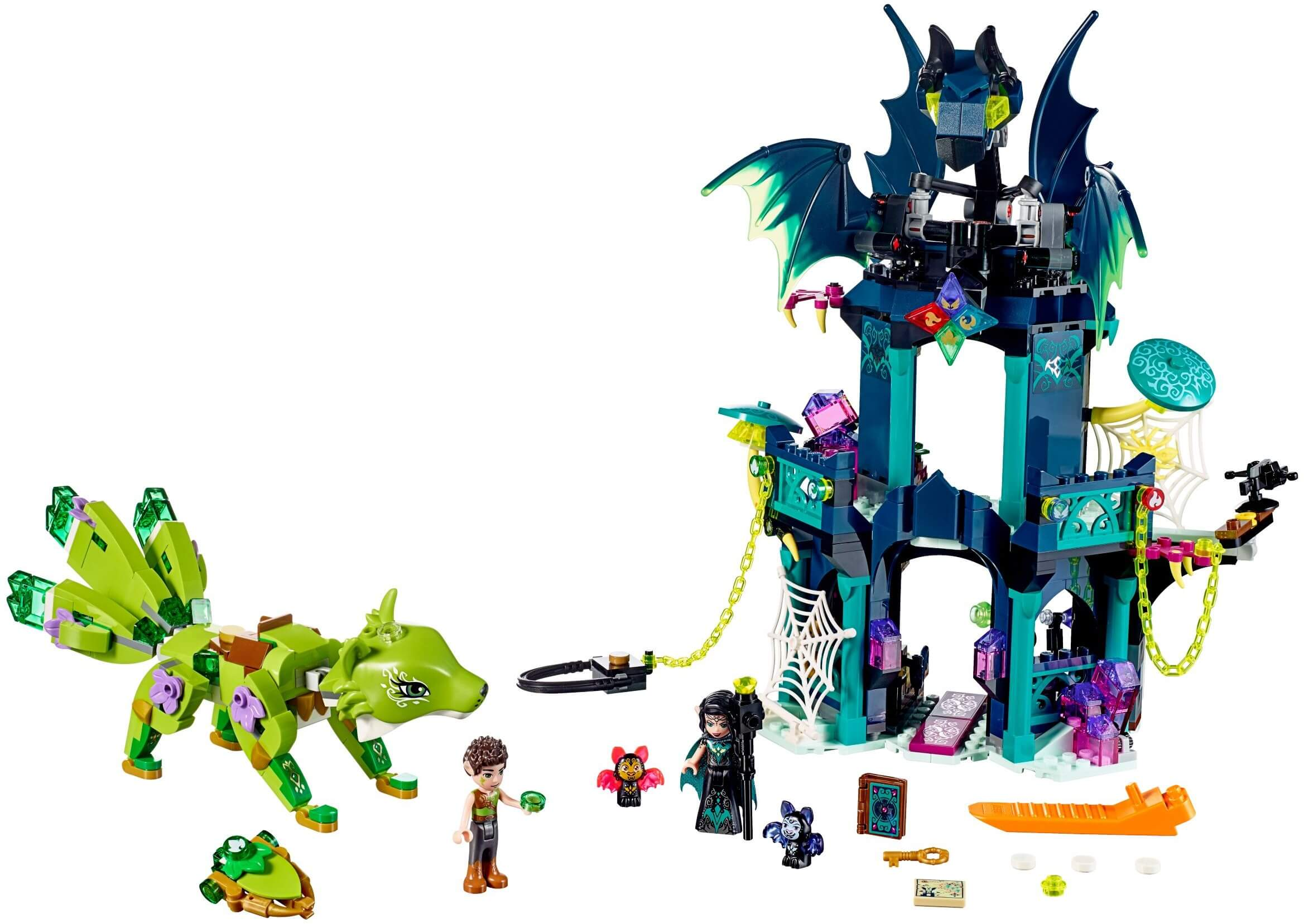 Mua đồ chơi LEGO 41194 - LEGO Elves 41194 - Tòa Tháp Ma Thuật của Noctura (LEGO Elves 41194 Noctura's Tower & the Earth Fox Rescue)