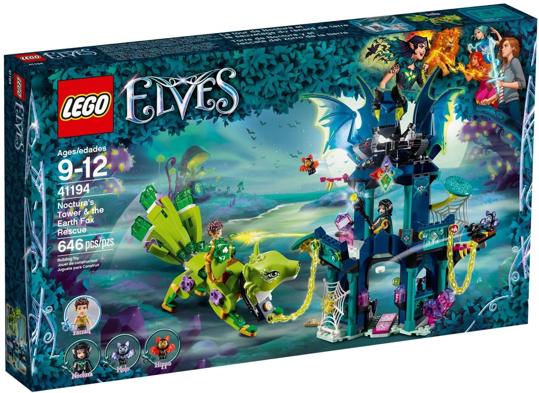 Mua đồ chơi LEGO 41194 - LEGO Elves 41194 - Tòa Tháp Ma Thuật của Noctura (LEGO Elves 41194 Noctura's Tower & the Earth Fox Rescue)