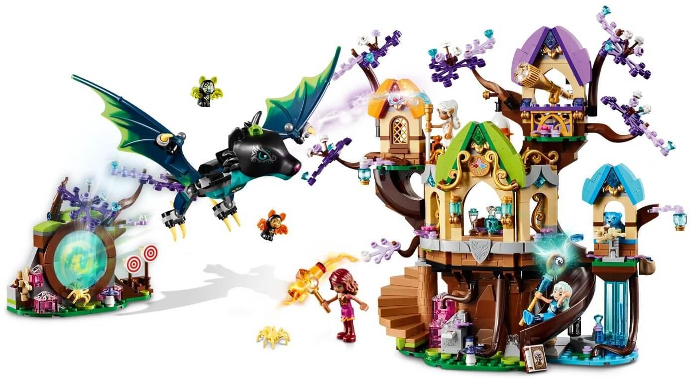 Mua đồ chơi LEGO 41196 - LEGO Elves 41196 - Ngôi Nhà Trên Cây của các Tiên Nữ (LEGO 41196 The Elvenstar Tree Bat Attack)