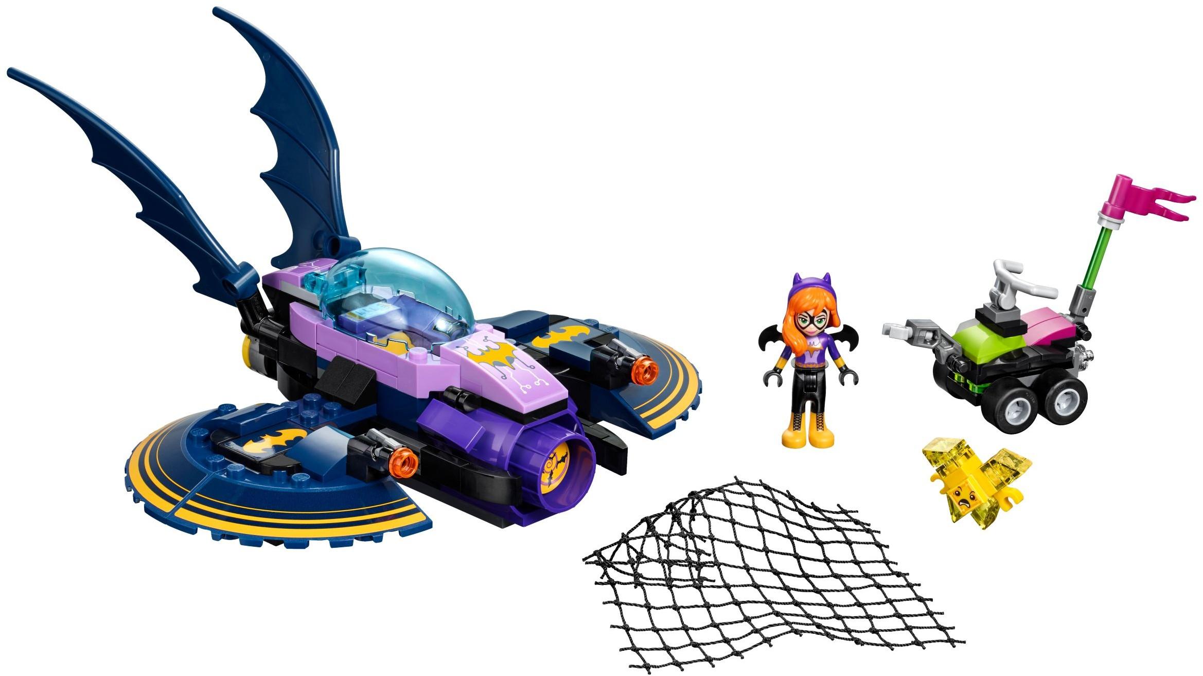 Mua đồ chơi LEGO 41230 - LEGO DC Super Hero Girls 41230 - Máy Bay Betjet của Batgirl (LEGO DC Super Hero Girls Batgirl Batjet Chase 41230)