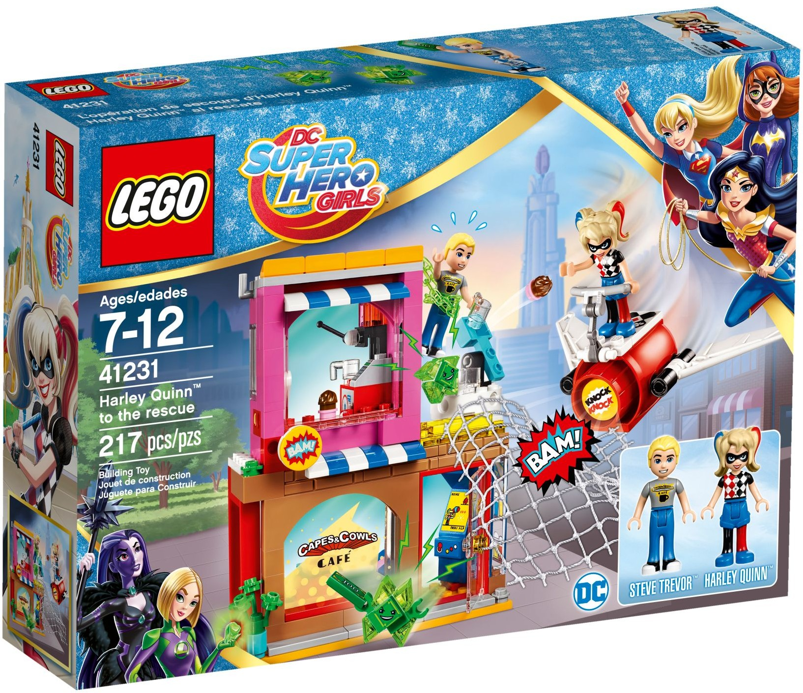 Mua đồ chơi LEGO 41231 - LEGO DC Super Hero Girls 41231 - Harley Quinn Giải Cứu Steve Trevor (LEGO DC Super Hero Girls Harley Quinn to the rescue 41231)