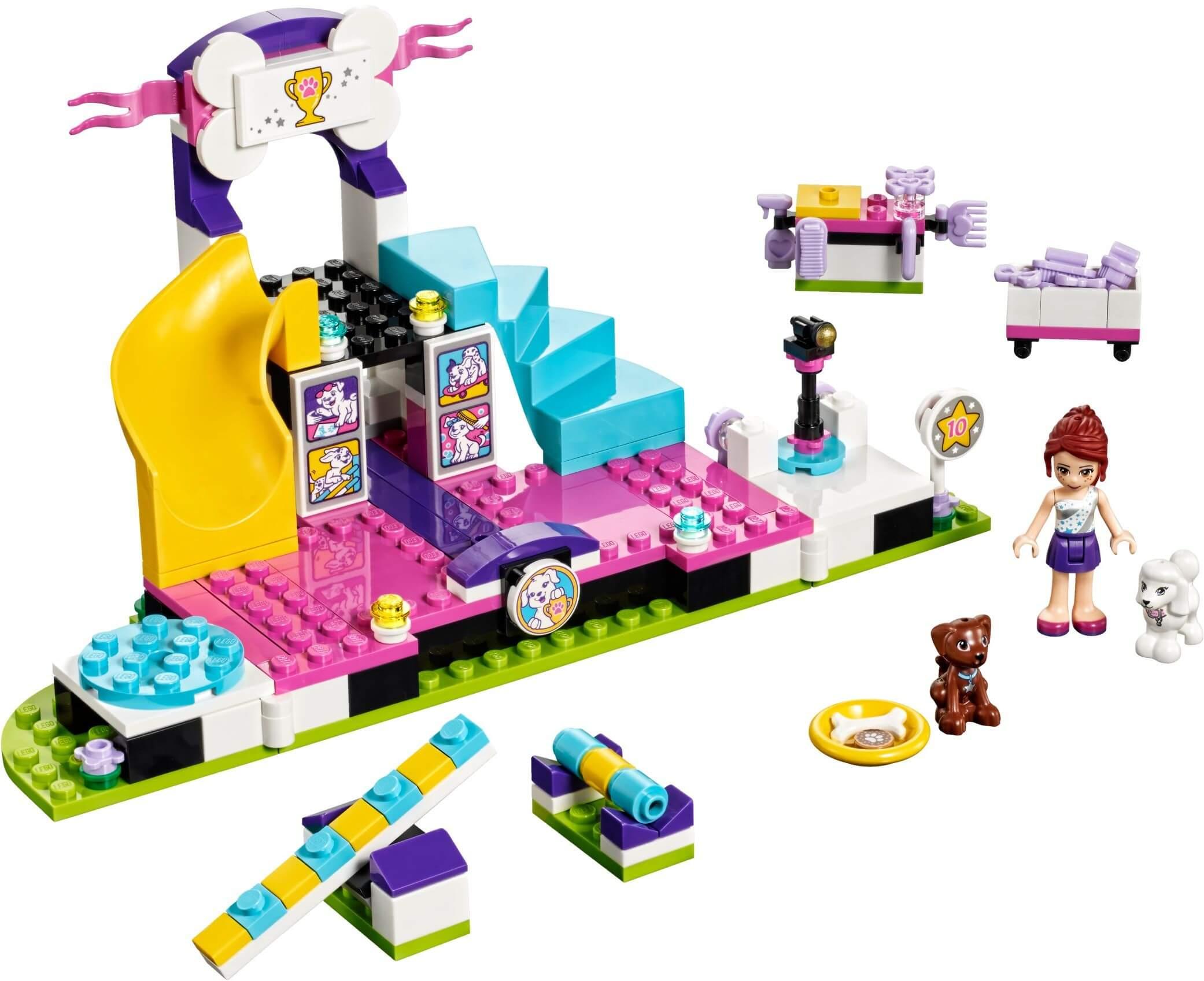 Mua đồ chơi LEGO 41300 - LEGO Friends 41300 - Cuộc Thi Thú Cưng (LEGO 41300 Puppy Championship)