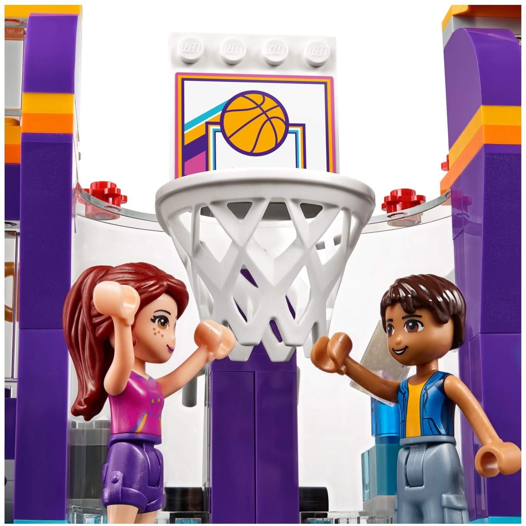 Mua đồ chơi LEGO 41312 - LEGO Friends 41312 - Trung Tâm Thể Thao Heartlake (LEGO 41312 Heartlake Sports Center)