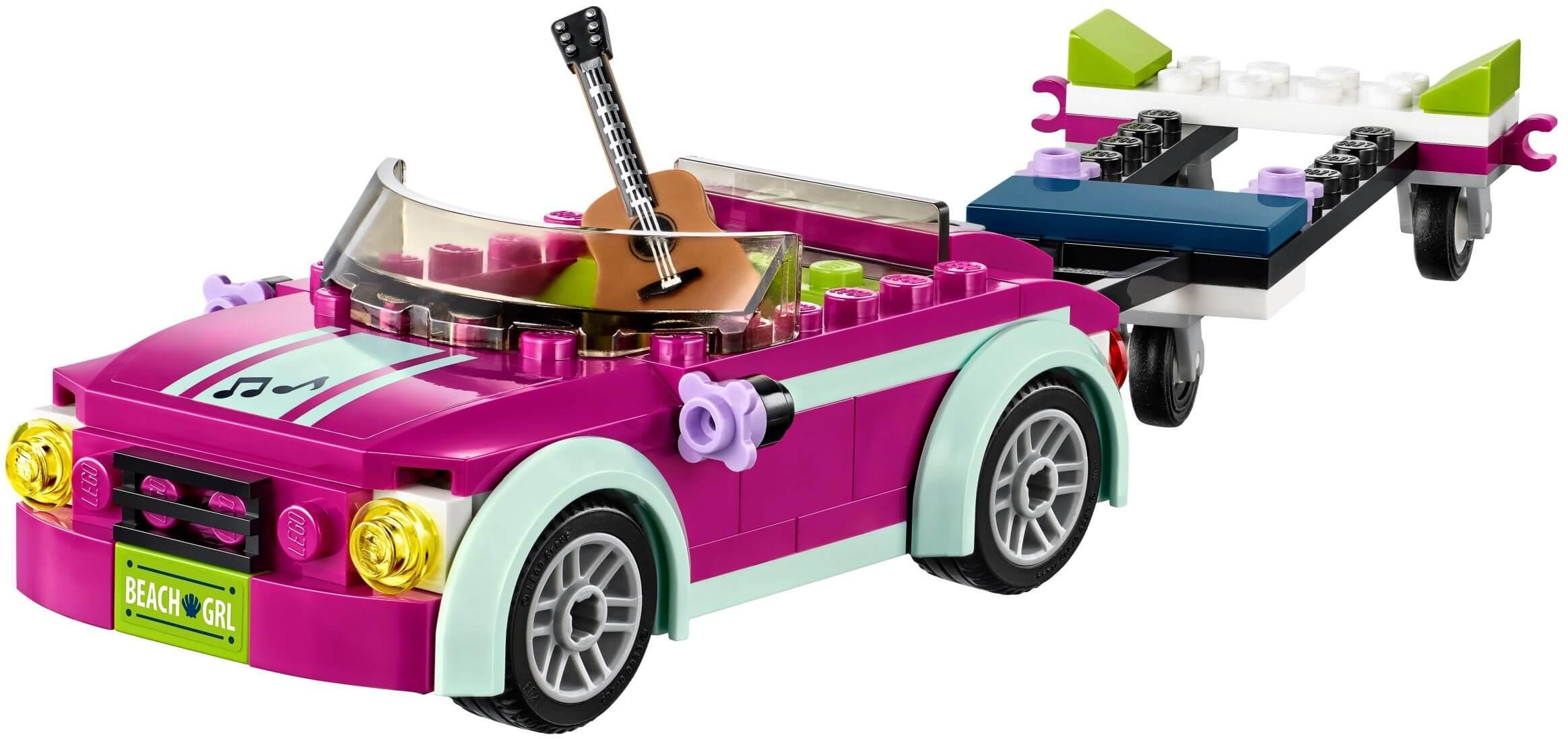 Mua đồ chơi LEGO 41316 - LEGO Friends 41316 - Xe chở Du Thuyền của Andrea (LEGO Friends Andrea's Speedboat Transporter)