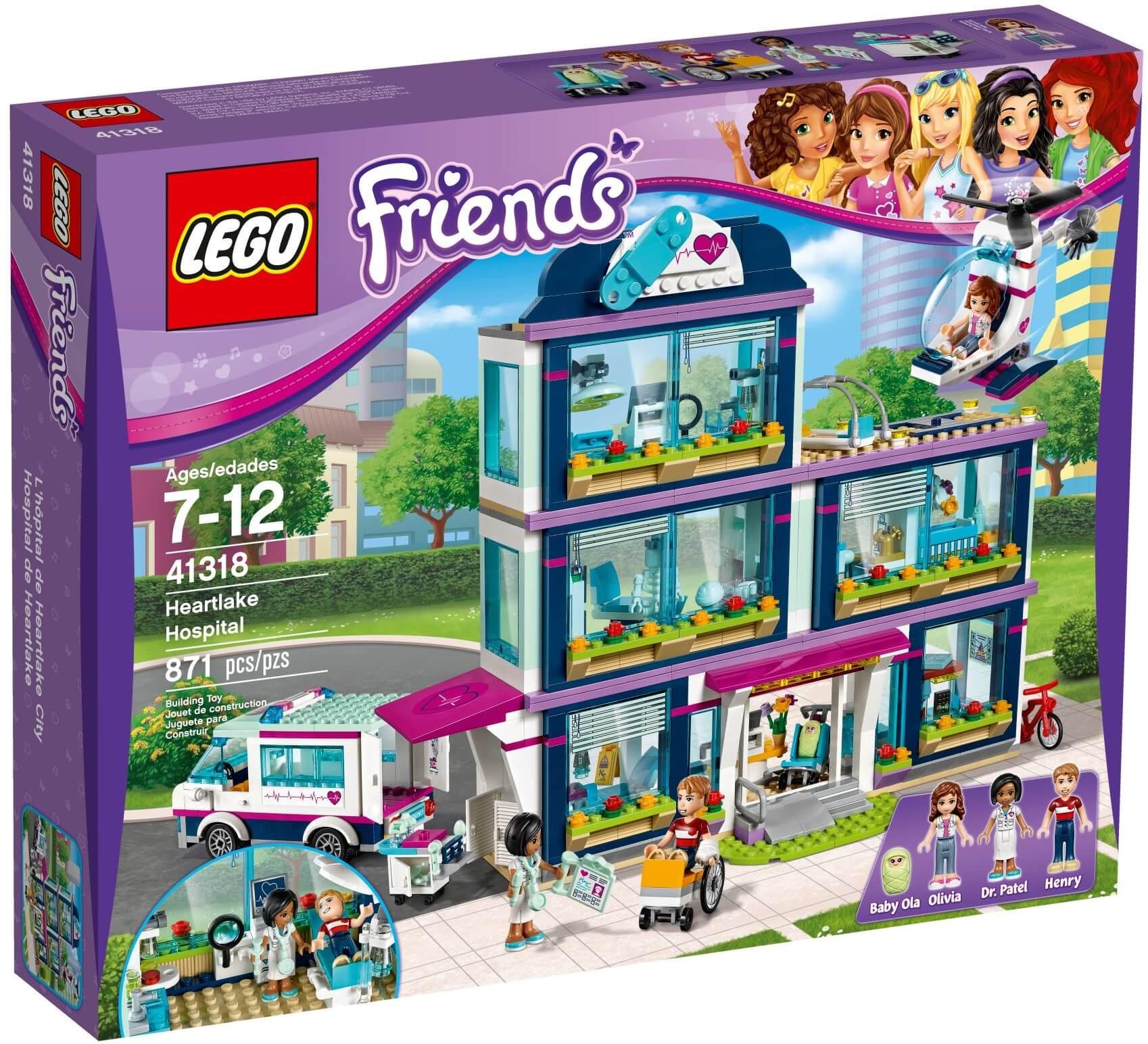 Mua đồ chơi LEGO 41318 - LEGO Friends 41318 - Bệnh Viện Heartlake (LEGO Friends Heartlake Hospital)