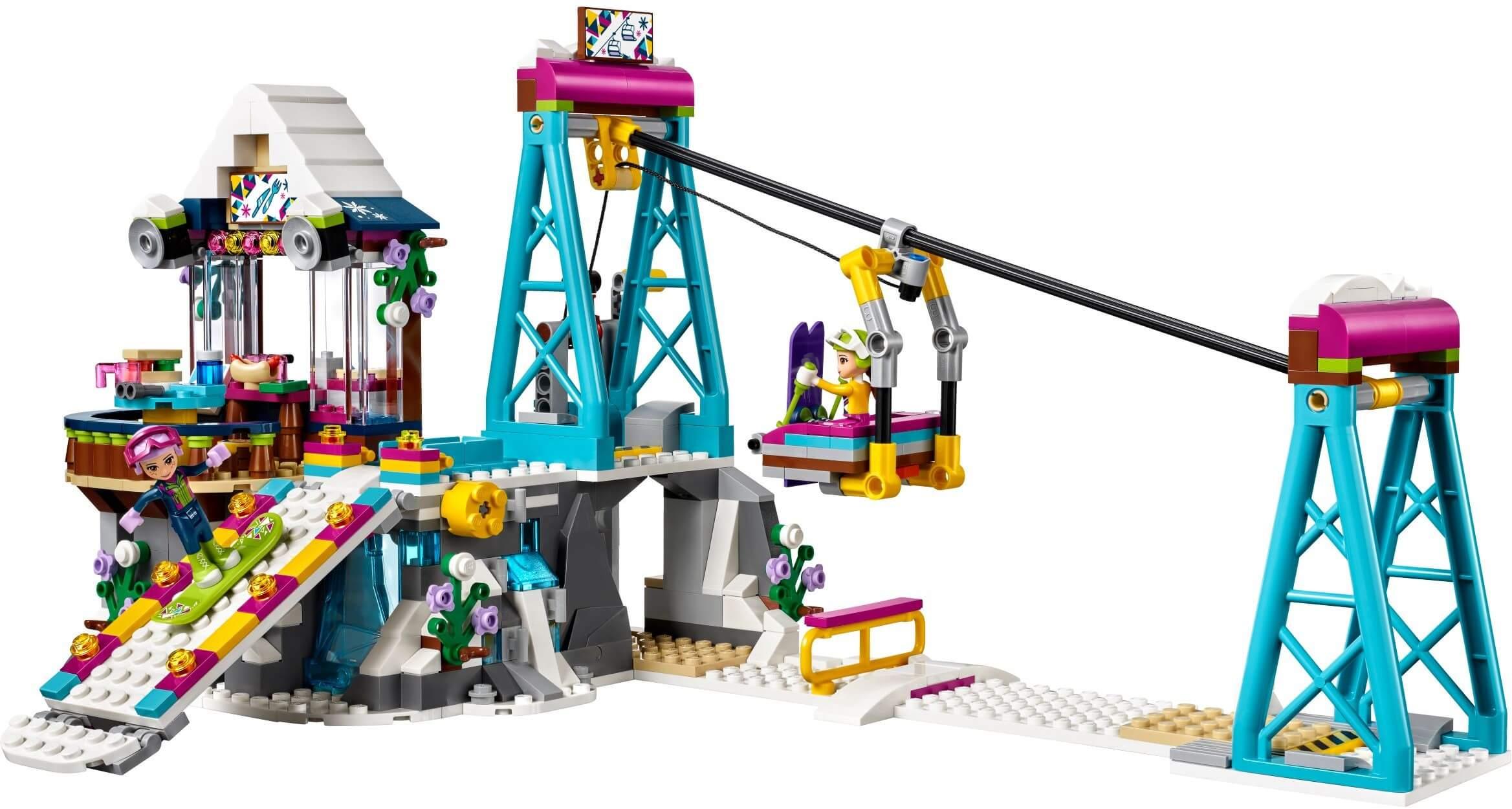 Mua đồ chơi LEGO 41324 - LEGO Friends 41324 - Cáp Treo Băng Tuyết (LEGO Friends Snow Resort Ski Lift)