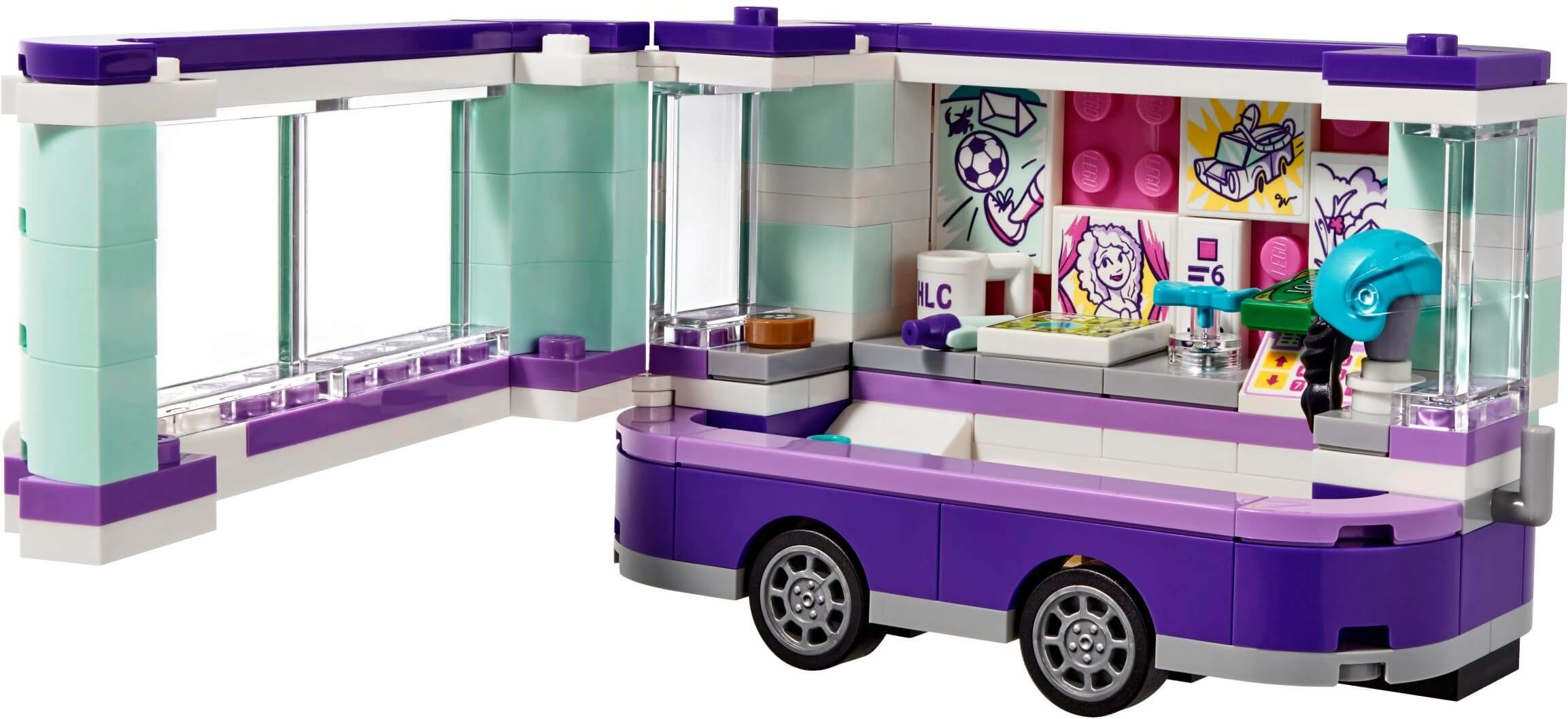 Mua đồ chơi LEGO 41332 - LEGO Friends 41332 - Quầy bán Tranh của Emma (LEGO Friends 41332 Emma's Art Stand)