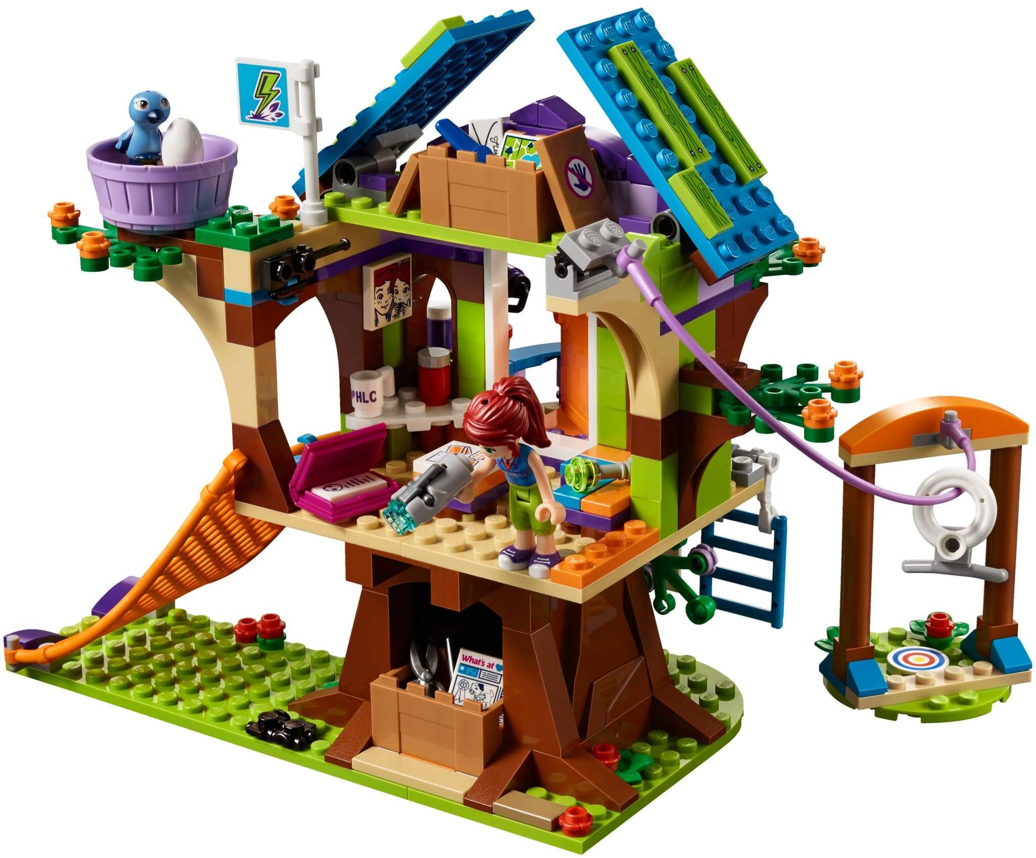 Mua đồ chơi LEGO 41335 - LEGO Friends 41335 - Ngôi Nhà trên Cây của Mia (LEGO Friends 41335 Mia's Tree House)