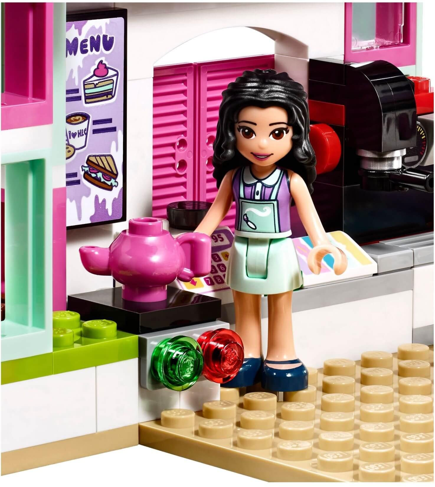Mua đồ chơi LEGO 41336 - LEGO Friends 41336 - Tiệm Cà Phê Nghệ thuật của Emma (LEGO Friends 41336 Emma's Art Café)