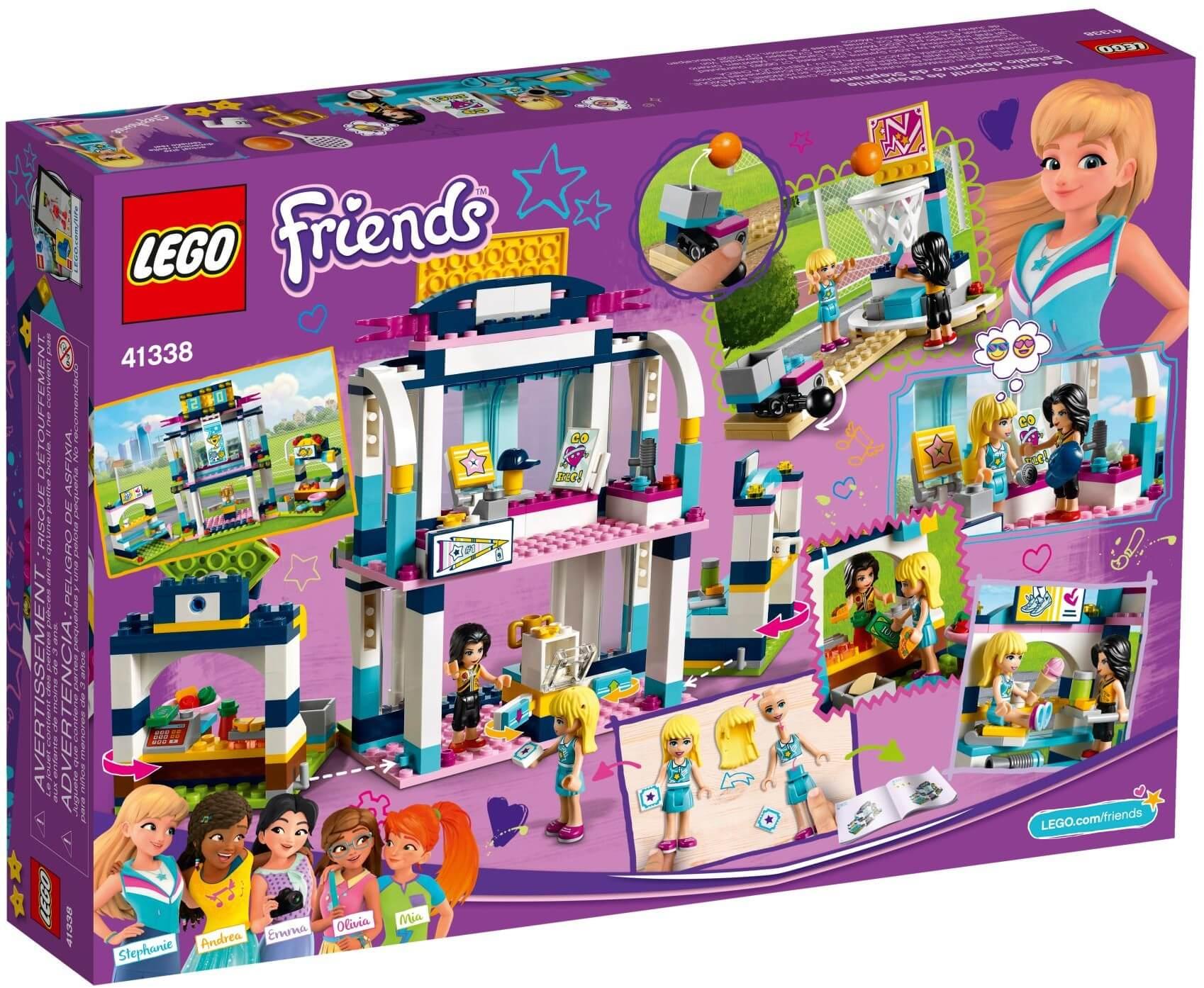 Mua đồ chơi LEGO 41338 - LEGO Friends 41338 - Trung tâm thể dục thể thao của Stephanie (LEGO Friends 41338 Stephanie's Sports Arena)