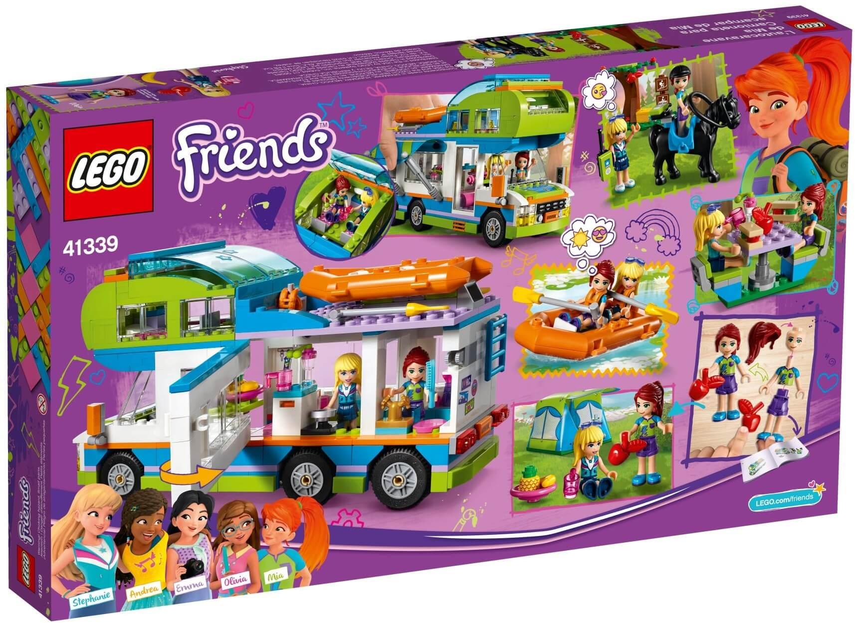 Mua đồ chơi LEGO 41339 - LEGO Friends 41339 - Xe Cắm Trại của Mia (LEGO Friends 41339 Mia's Camper Van)