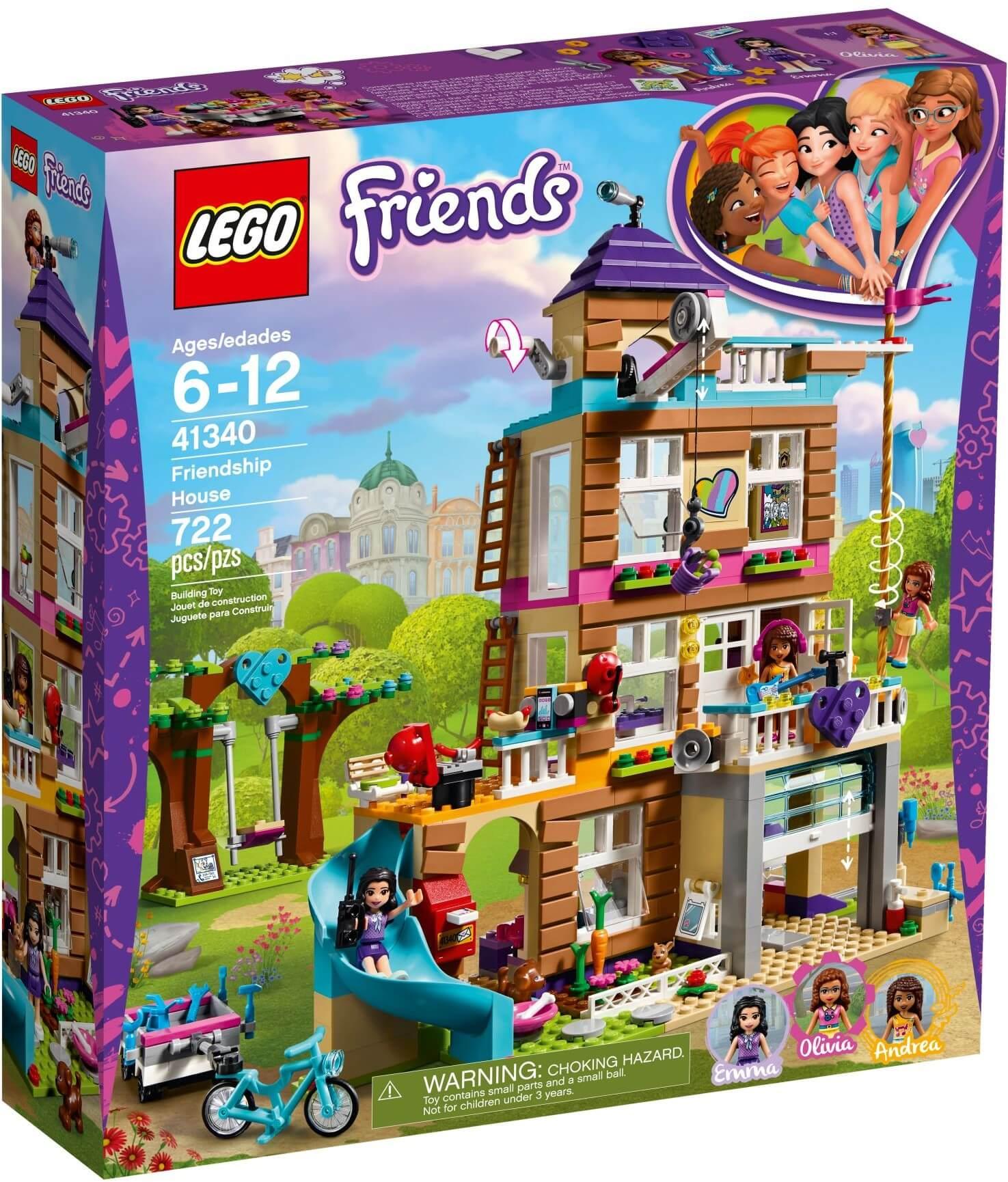 Mua đồ chơi LEGO 41340 - LEGO Friends 41340 - Ngôi Nhà Tình Bạn (LEGO Friends 41340 Friendship House)