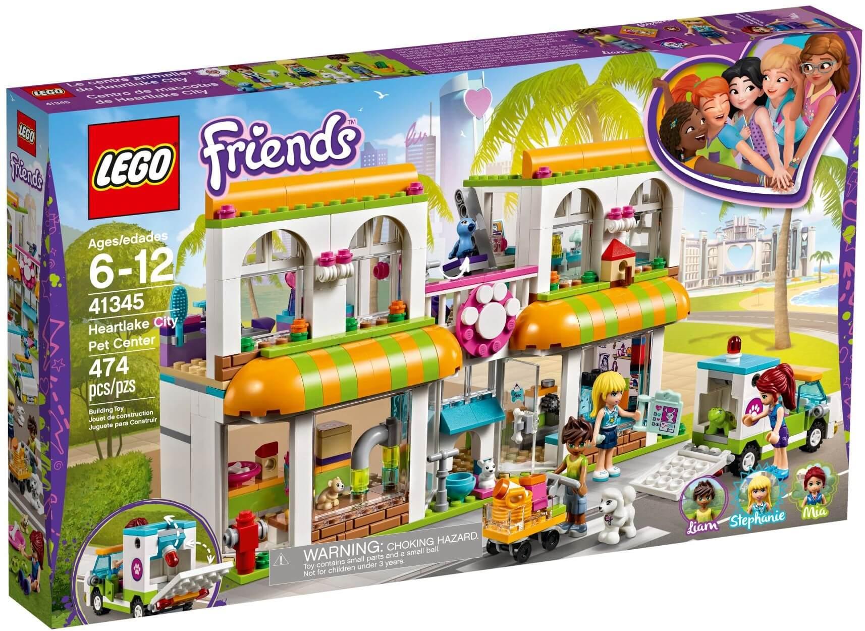 Mua đồ chơi LEGO 41345 - LEGO Friends 41345 - Bệnh Viện Thú Cưng (LEGO 41345 Heartlake City Pet Center)