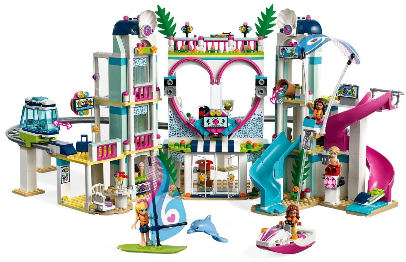Mua đồ chơi LEGO 41347 - LEGO Friends 41347 - Khu Du Lịch Heartlake (LEGO 41347 Heartlake City Resort)