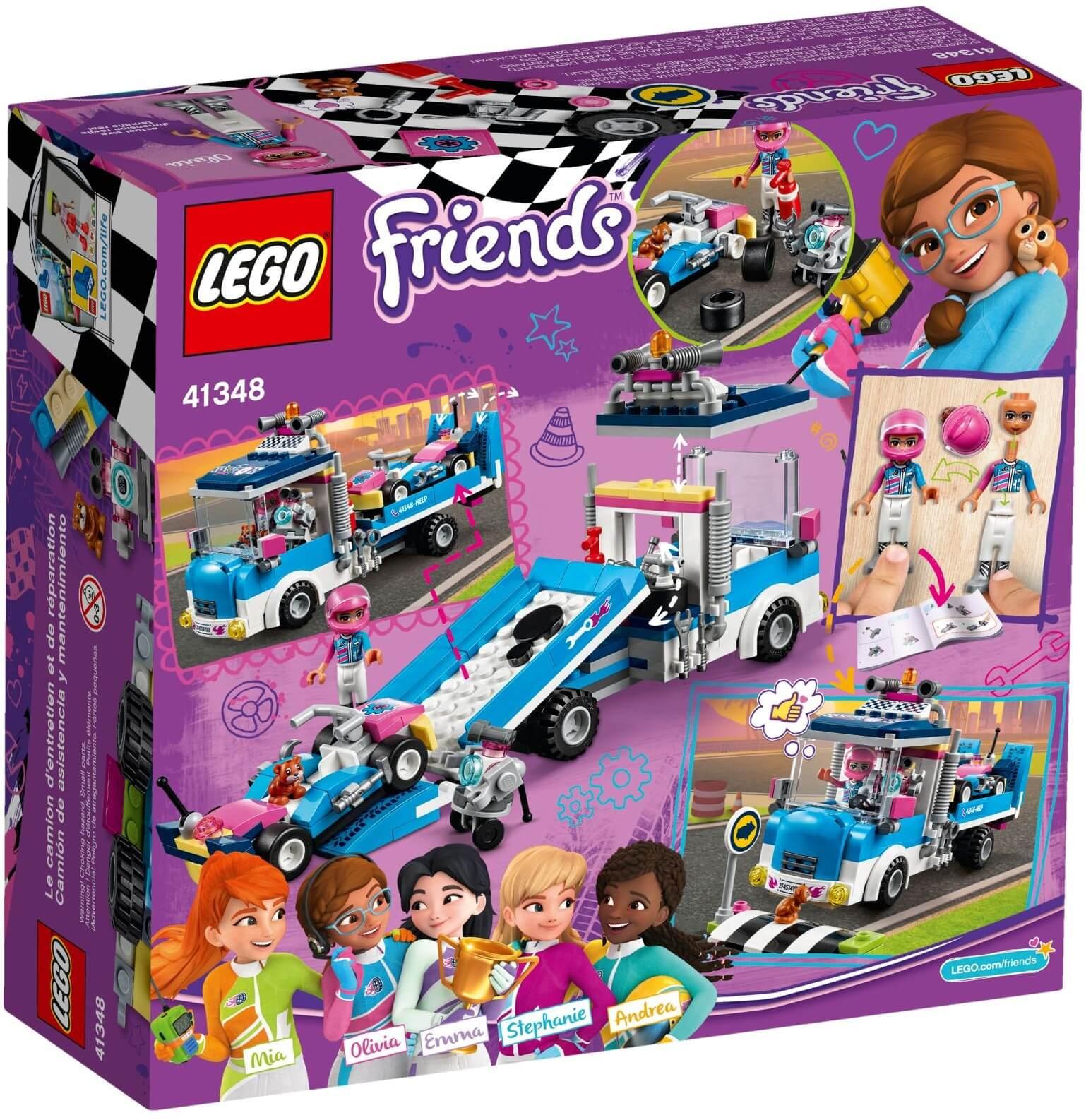 Mua đồ chơi LEGO 41348 - LEGO Friends 41348 - Đội Xe Đua Heartlake (LEGO 41348 Service & Care Truck)