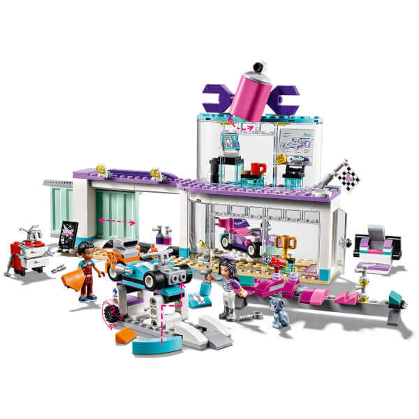 Mua đồ chơi LEGO 41351 - LEGO Friends 41351 - Cửa Hàng Xe Đua Heartlake (LEGO 41351 Creative Tuning Shop)