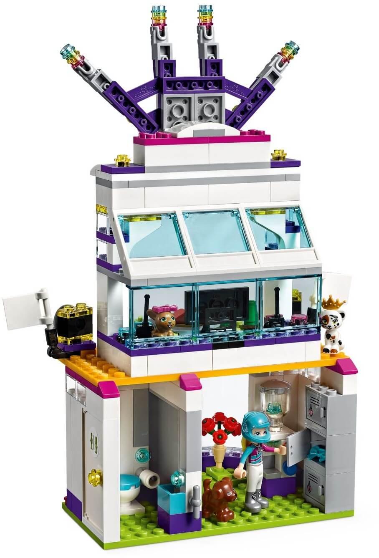 Mua đồ chơi LEGO 41352 - LEGO Friends 41352 - Trường Đua Xe Heartlake (LEGO 41352 The Big Race Day)