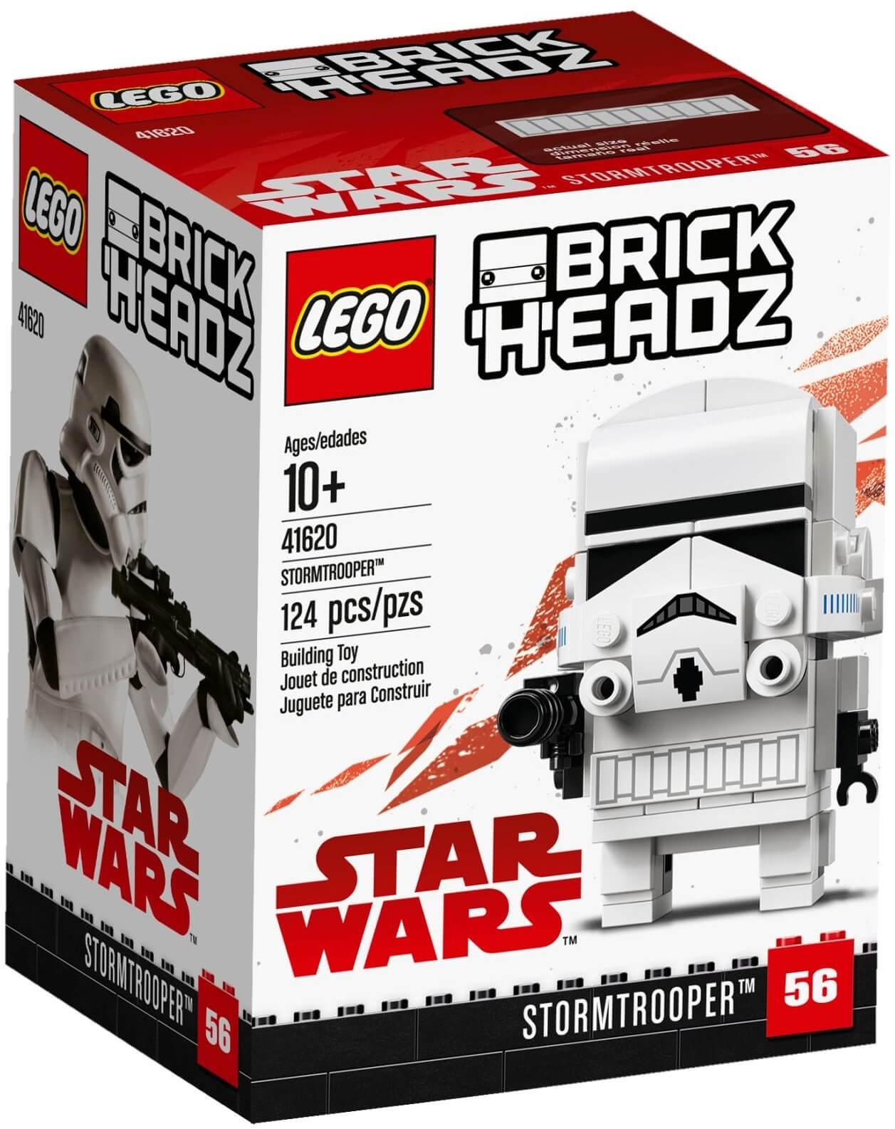 Mua đồ chơi LEGO 41620 - LEGO Brickheadz Star Wars 41620 - Mô hình Chibi Star Wars - Stormtrooper (LEGO Brickheadz Star Wars 41620 Stormtrooper)