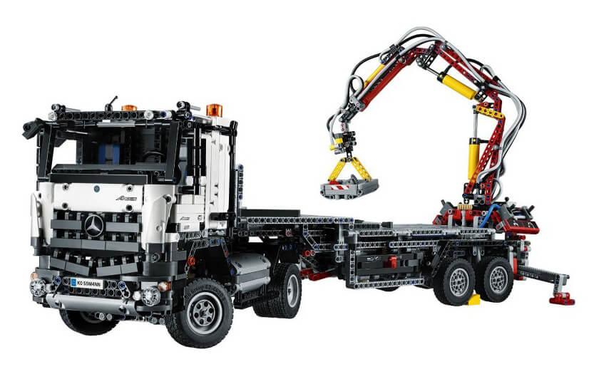 Mua đồ chơi LEGO 42043 - LEGO Technic 42043 - Xe tải cẩu đa năng Mercedes-Benz Arocs 3245 (LEGO Technic Mercedes-Benz Arocs 3245 42043)
