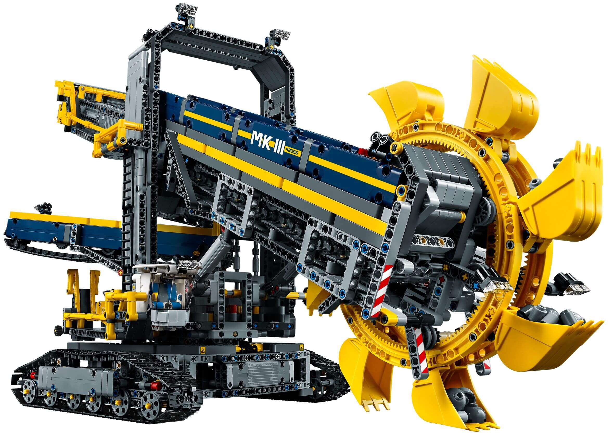 Mua đồ chơi LEGO 42055 - LEGO Technic 42055 - Máy Đào Đất Khổng Lồ (LEGO Technic Bucket Wheel Excavator 42055)
