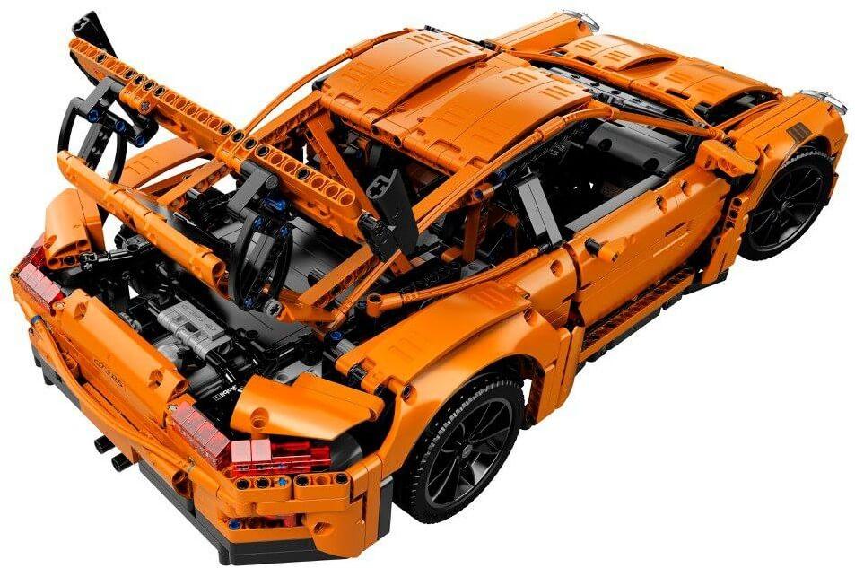 Mua đồ chơi LEGO 42056 - LEGO Technic 42056 - Siêu Xe Porsche 911 GT3 RS - 2704 mảnh ghép (LEGO Technic 42056 Porsche 911 GT3 RS)