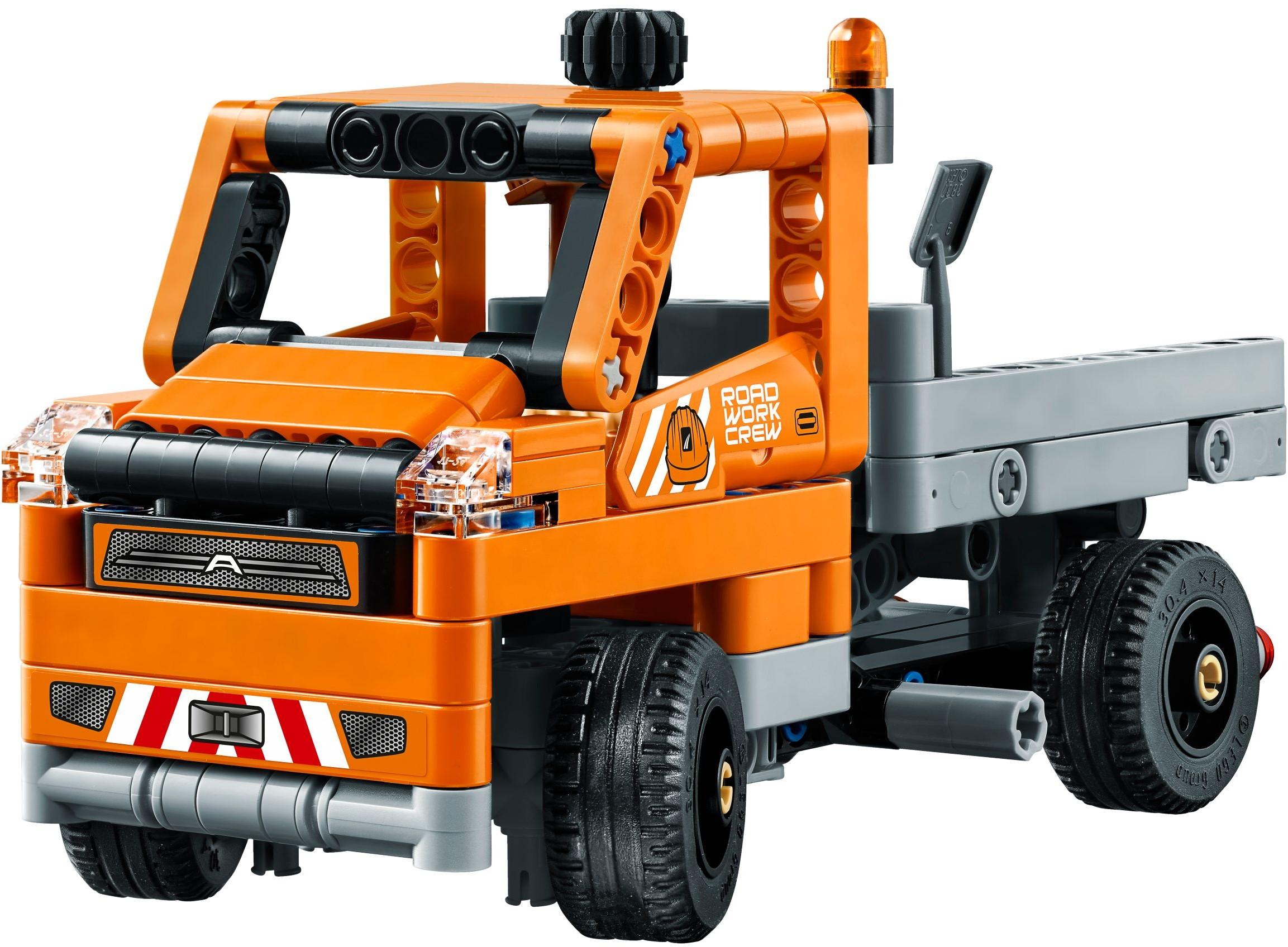 Mua đồ chơi LEGO 42060 - LEGO Technic 42060 - Đội Xe Làm Đường (LEGO Technic Roadwork Crew 42060)