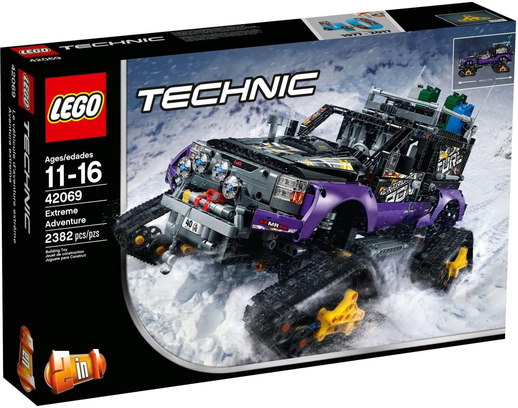 Mua đồ chơi LEGO 42069 - LEGO Technic 42069 - Xe Địa Hình Bánh Xích - Xe Tải Địa Hình 2-trong-1 (LEGO Technic Extreme Adventure)